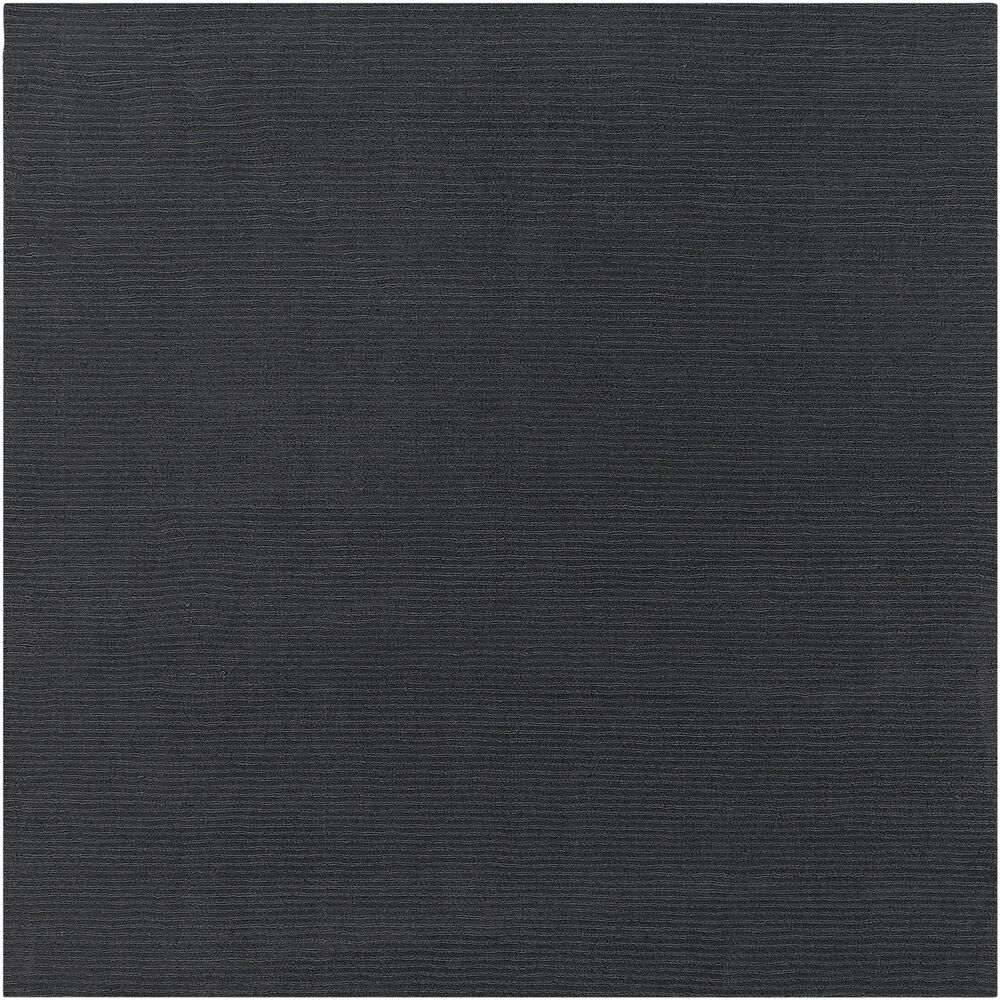 Villegas Dark Gray Area Rug Rug Size: Square 8'