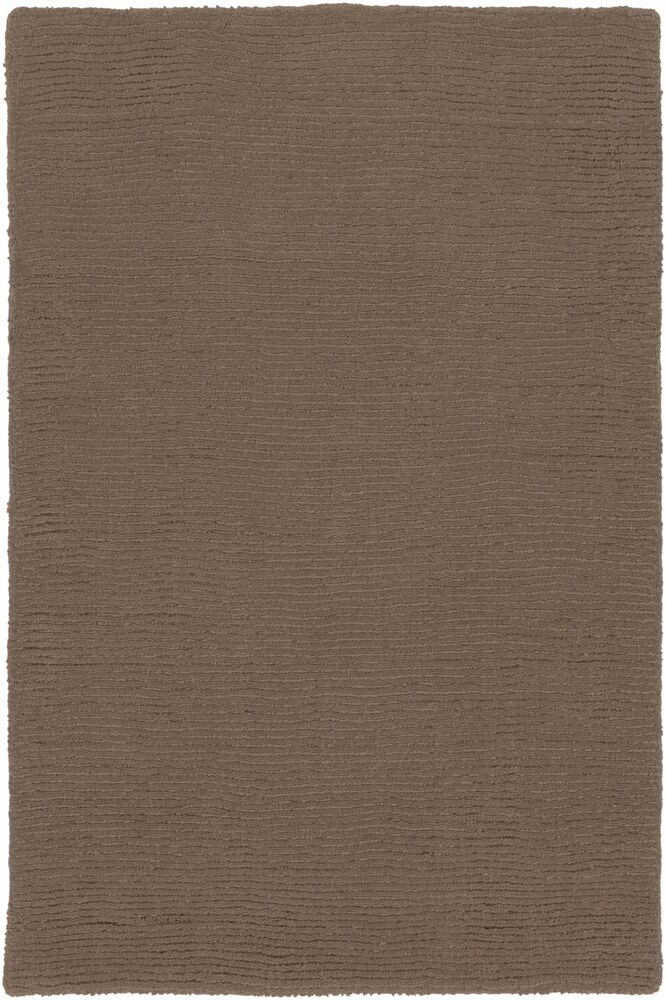 Villegas Chocolate Area Rug Rug Size: Round 6'