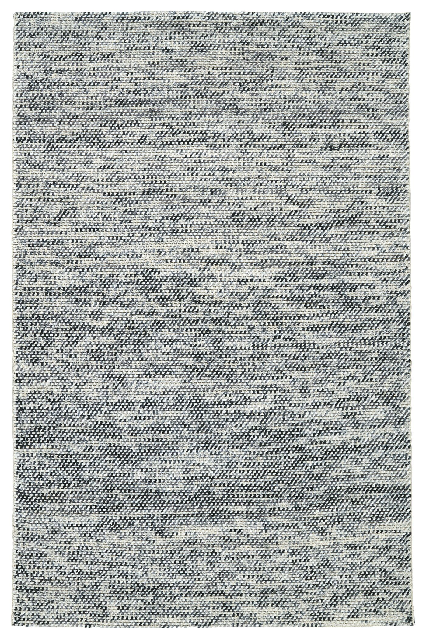 Chianna Handmade Gray Area Rug Rug Size: Rectangle 9' x 12'