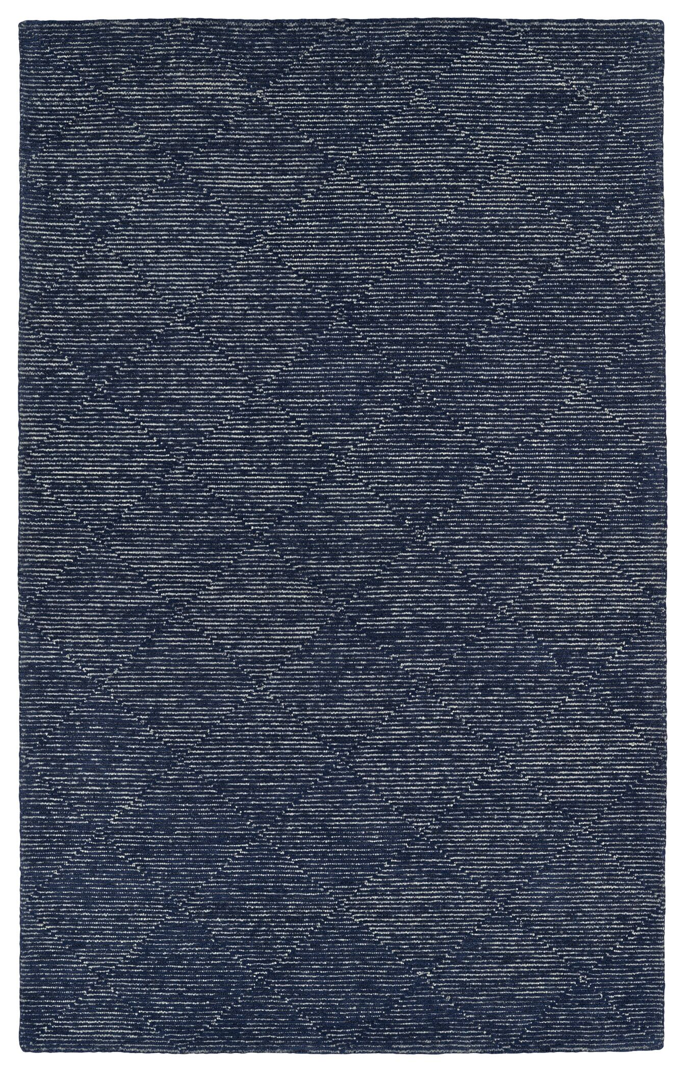 Cilegon Handmade Navy Area Rug Rug Size: Rectangle 5' x 7'9