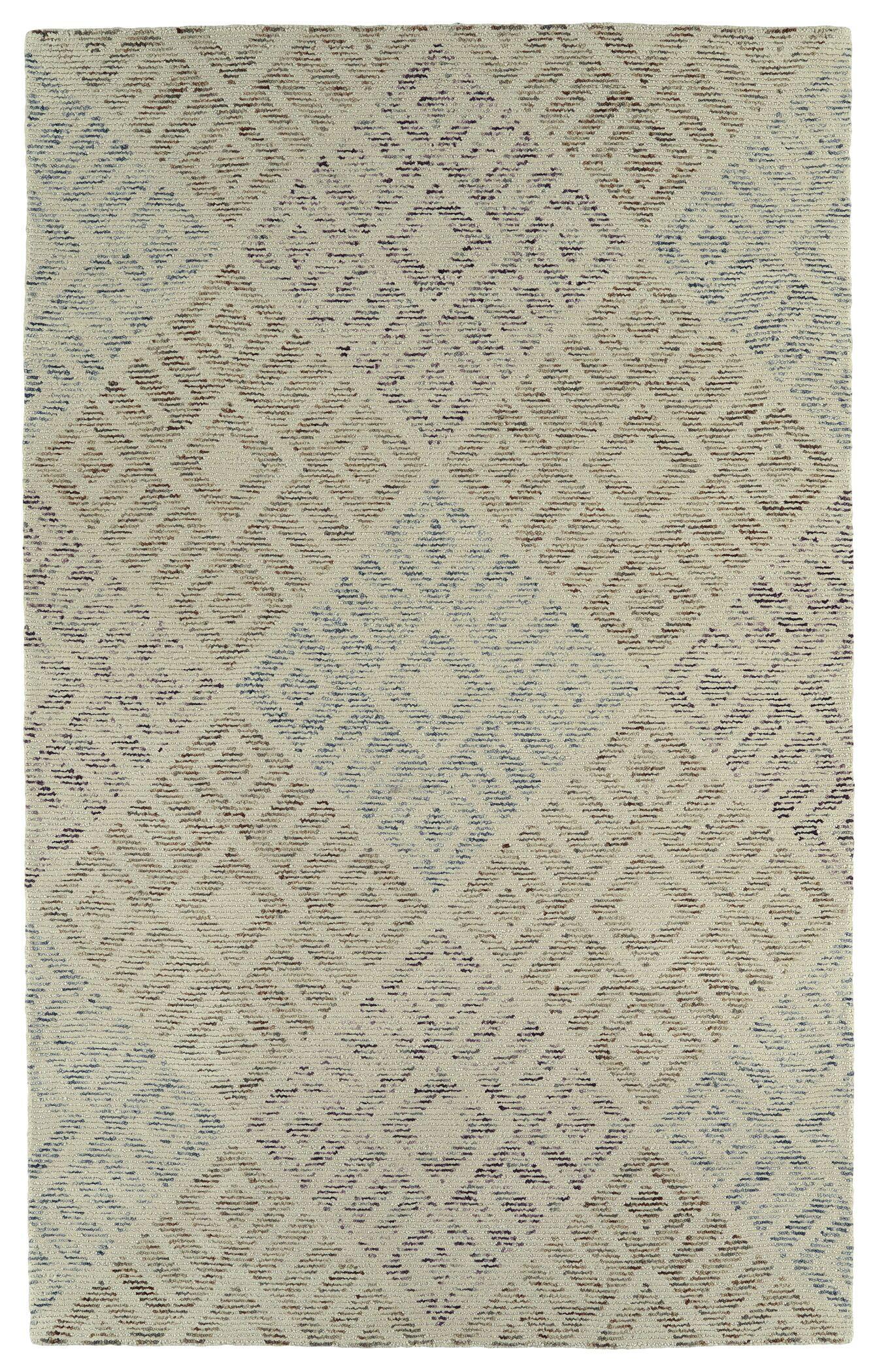 Cilegon Handmade Beige Area Rug Rug Size: Rectangle 8' x 10'