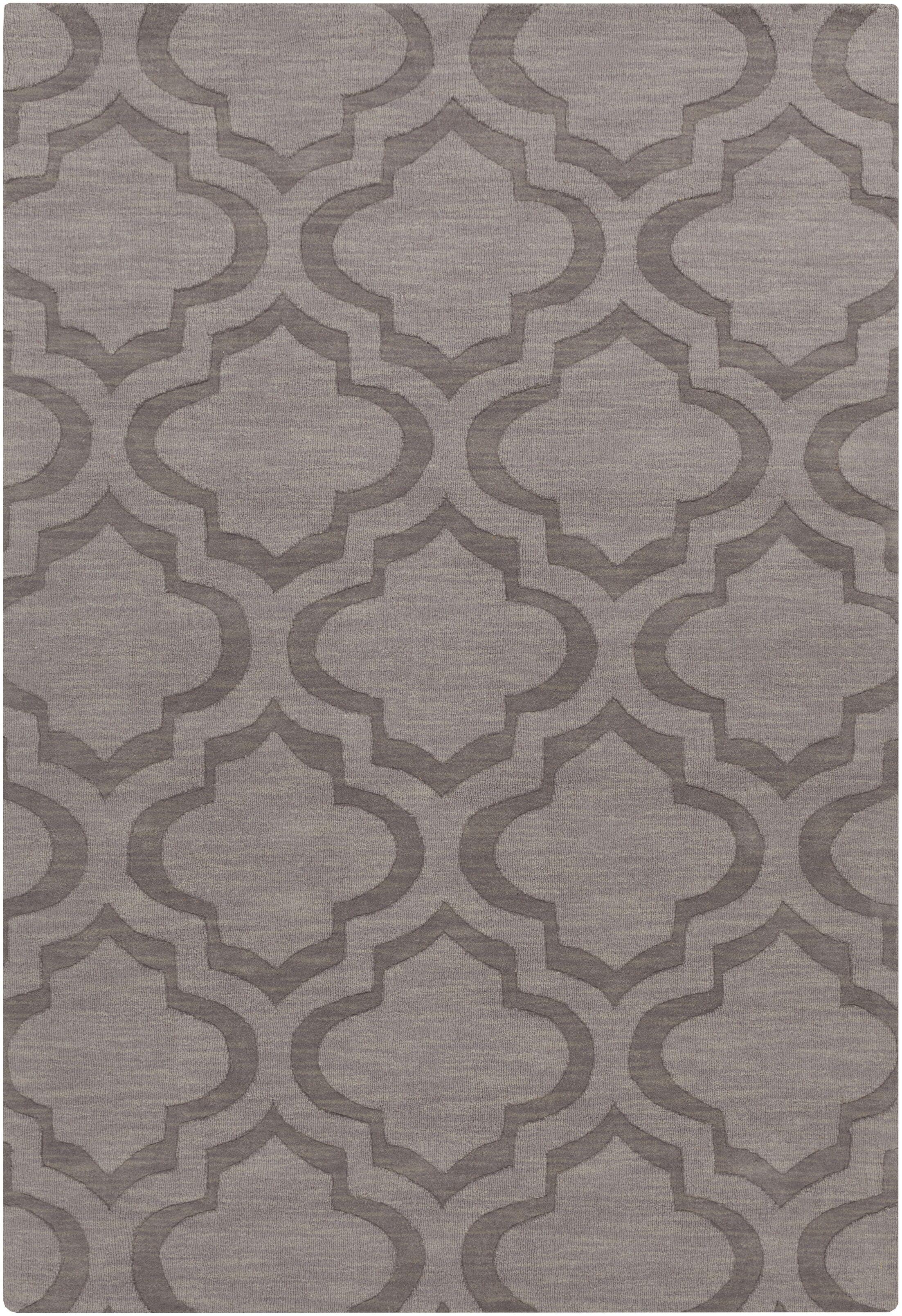 Castro Hand Woven Wool Charcoal Area Rug Rug Size: Rectangle 3' x 5'