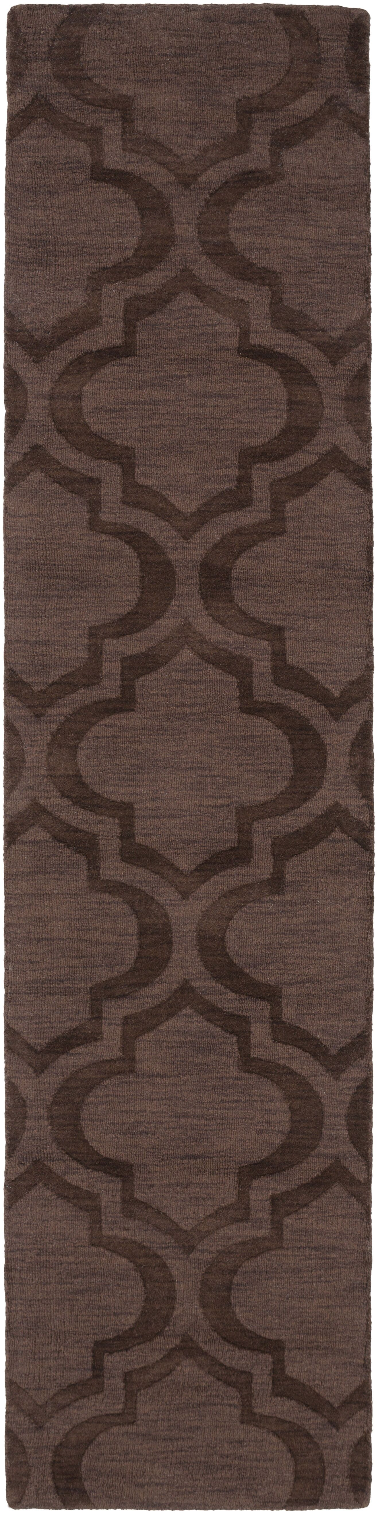 Castro Brown Geometric Kate Area Rug Rug Size: Runner 2'3