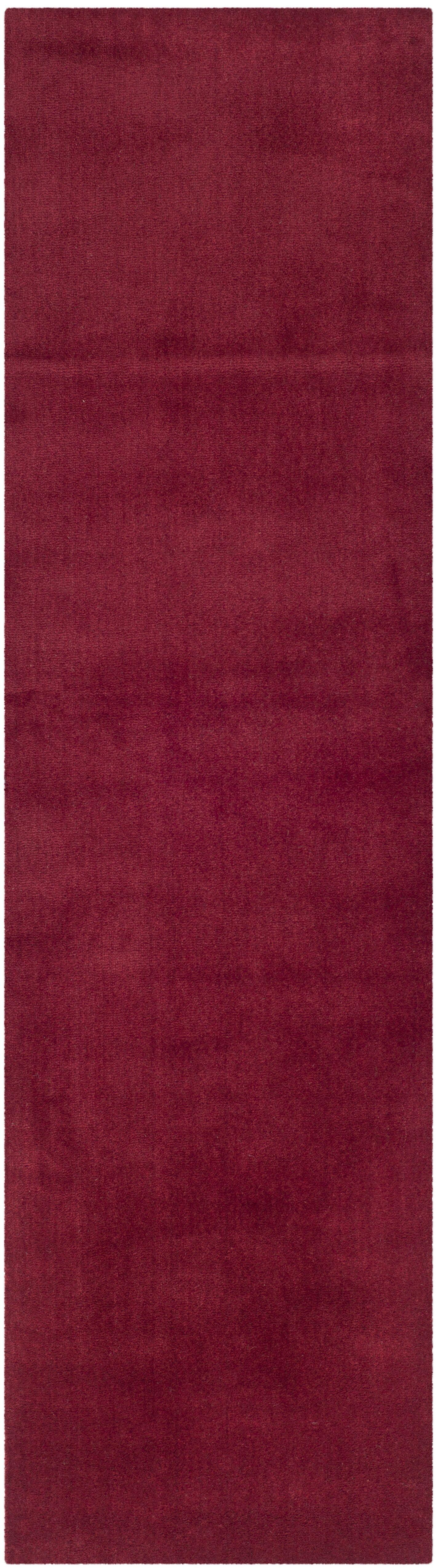 Bargo Red Area Rug Rug Size: Runner 2'3
