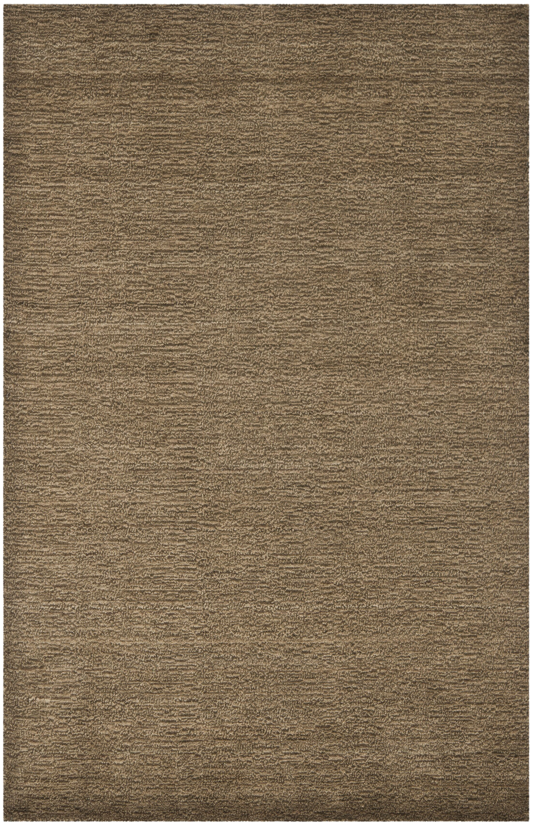 Bargo Brown Solid Area Rug Rug Size: Rectangle 8' x 10'