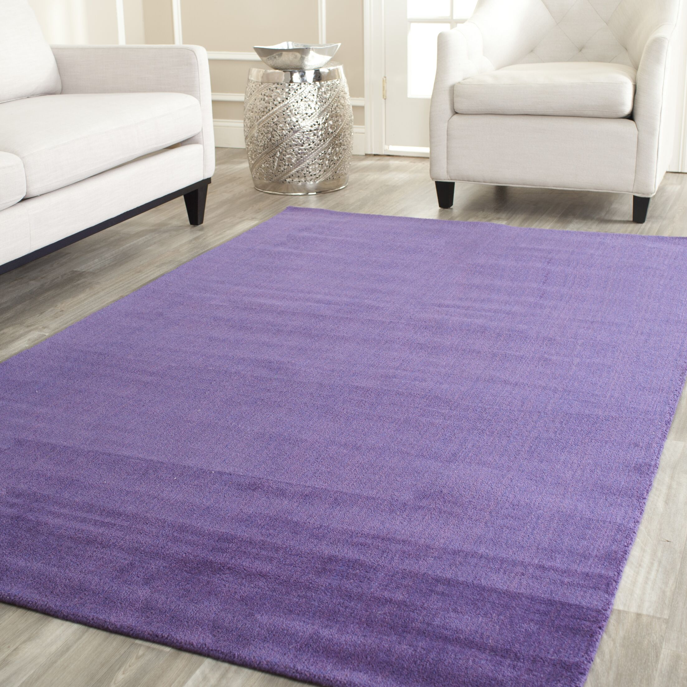 Bargo Purple Area Rug Rug Size: Rectangle 5' x 8'
