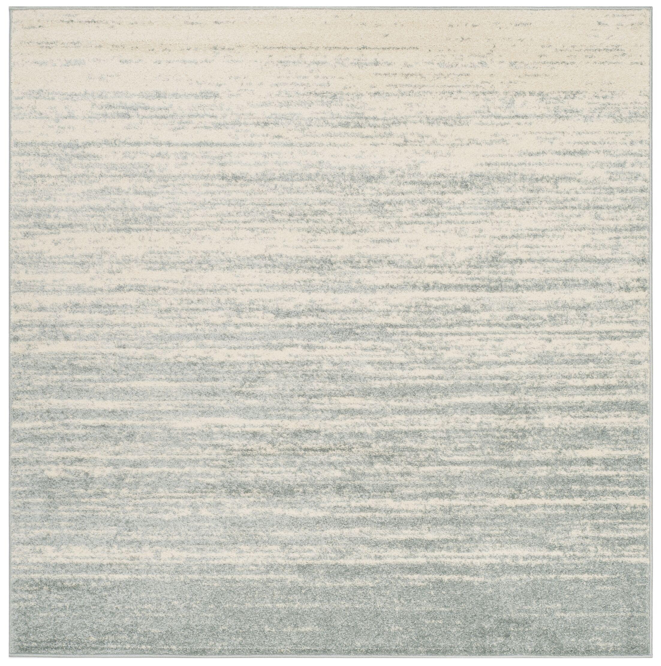 Connie Slate/Cream Area Rug Rug Size: Square 6'