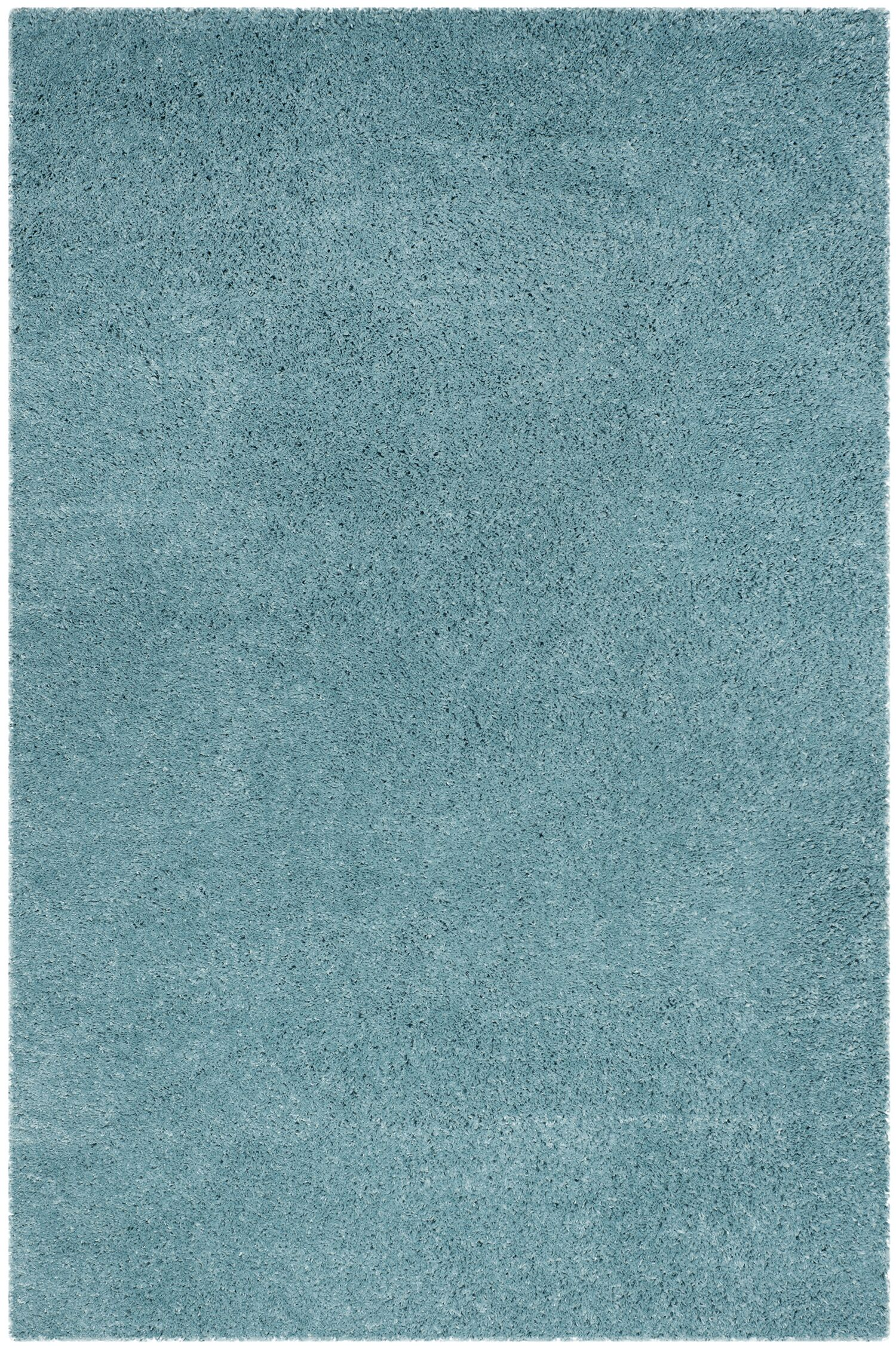 Hornell Power Loomed Blue Area Rug Rug Size: Rectangle 5'1
