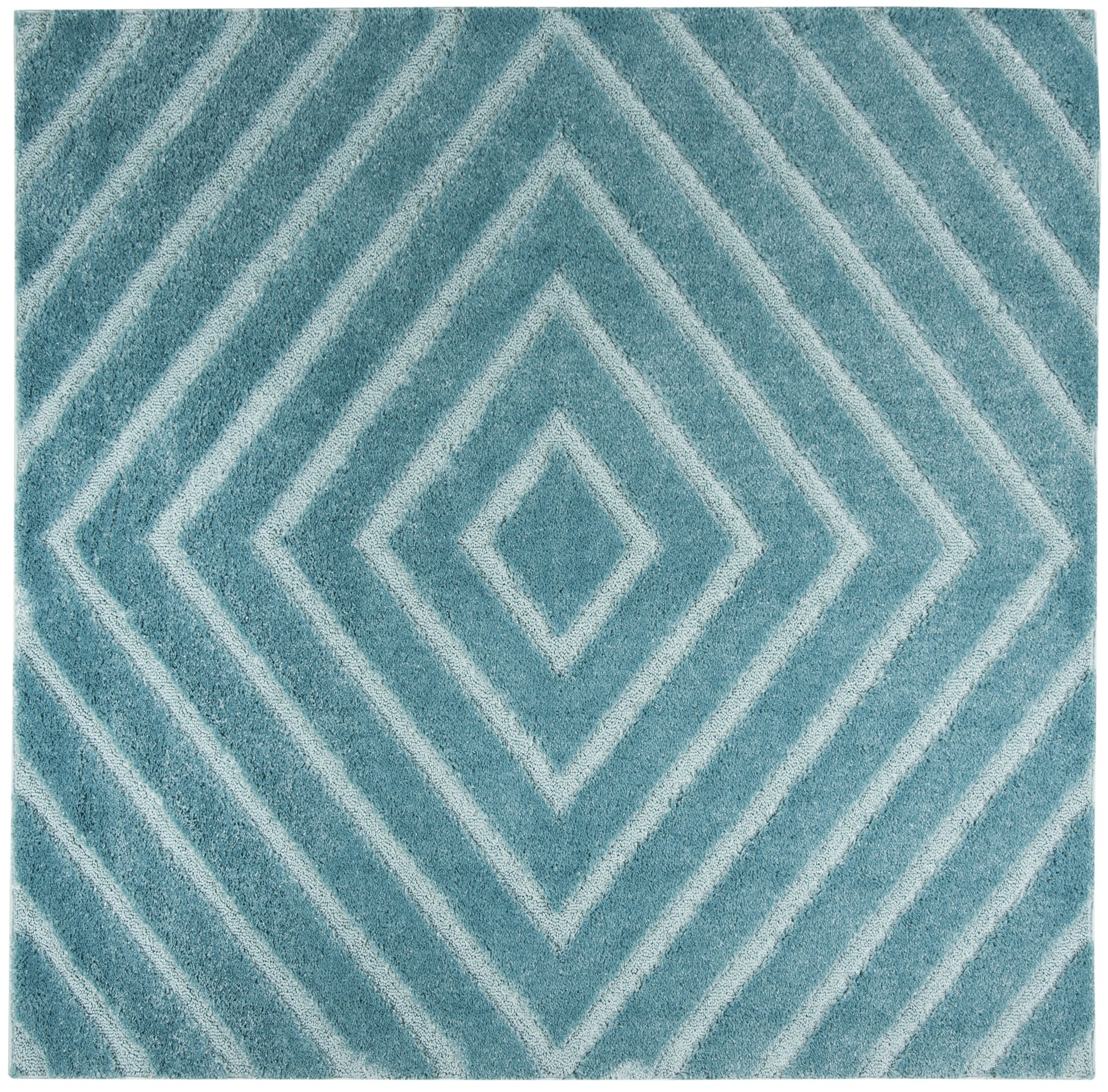 Helms Blue Area Rug Rug Size: Square 6'7''