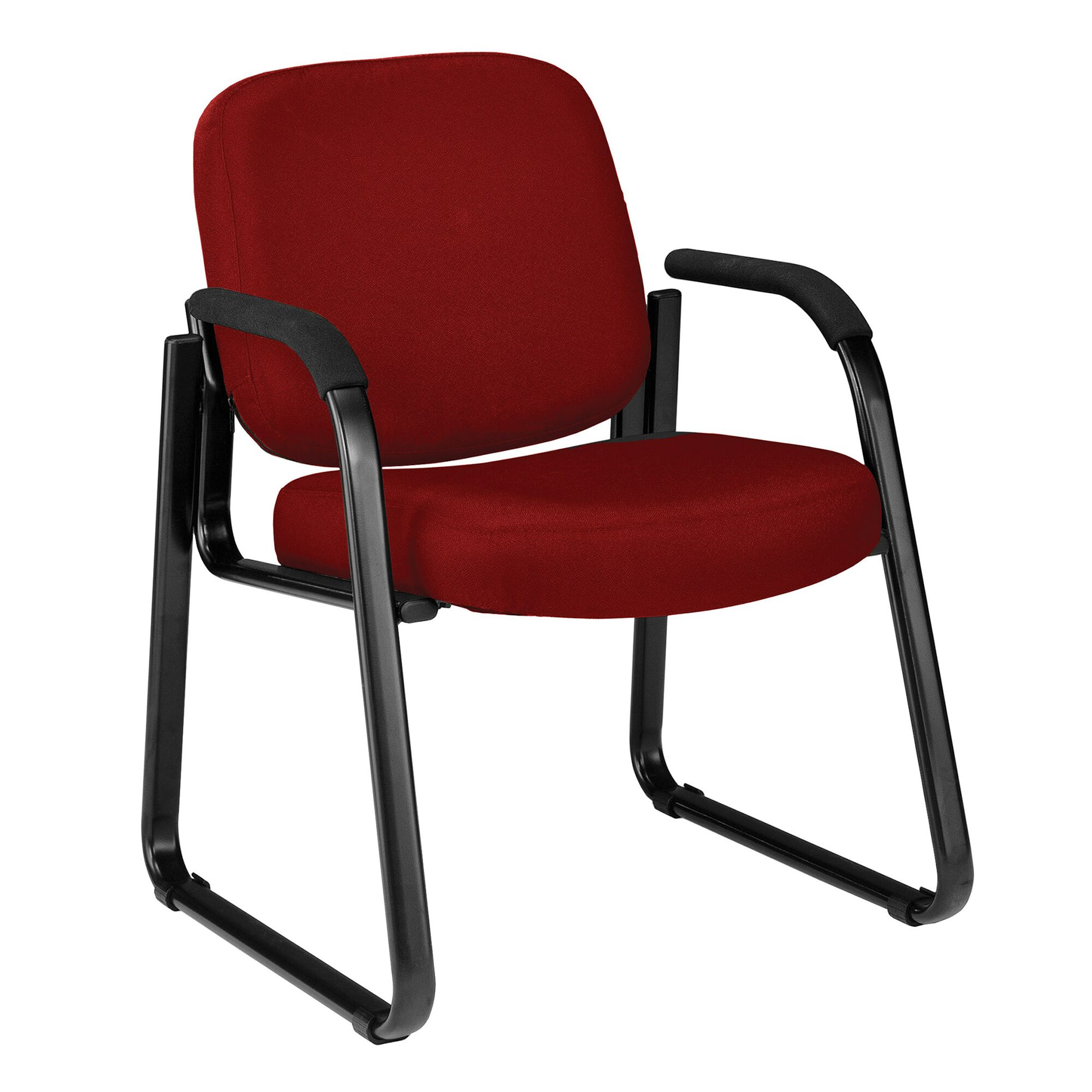 Jude Arm Guest Chair Color: Wine