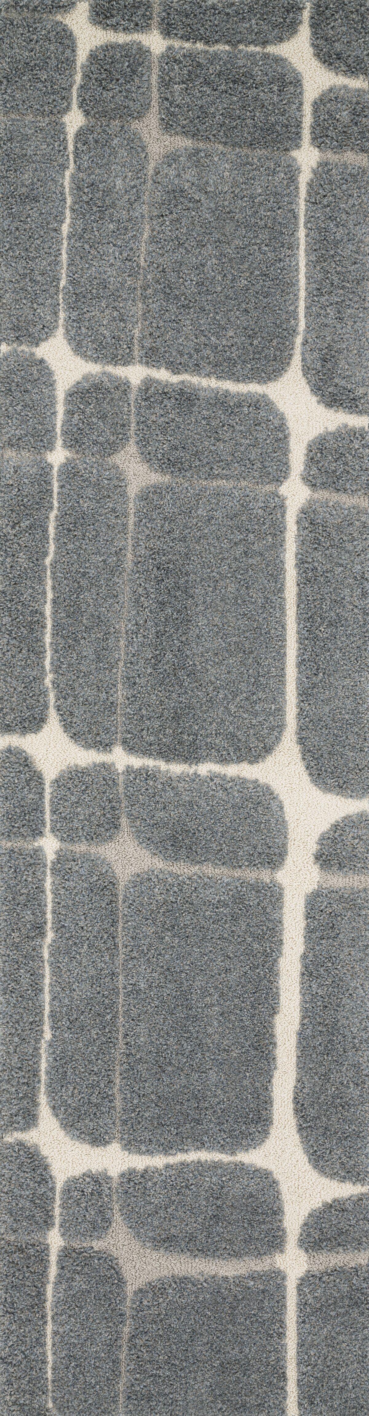 Bigham Slate/Sand Area Rug Rug Size: Runner 2'3