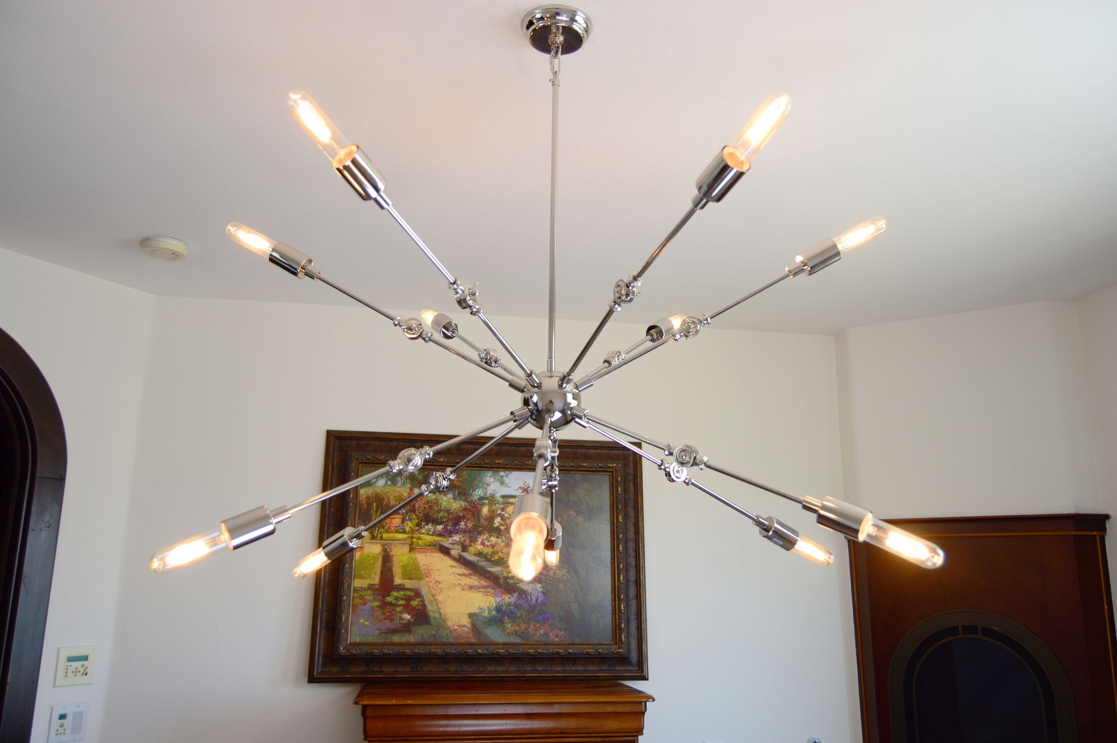 Tibbits 12-Light Sputnik Chandelier