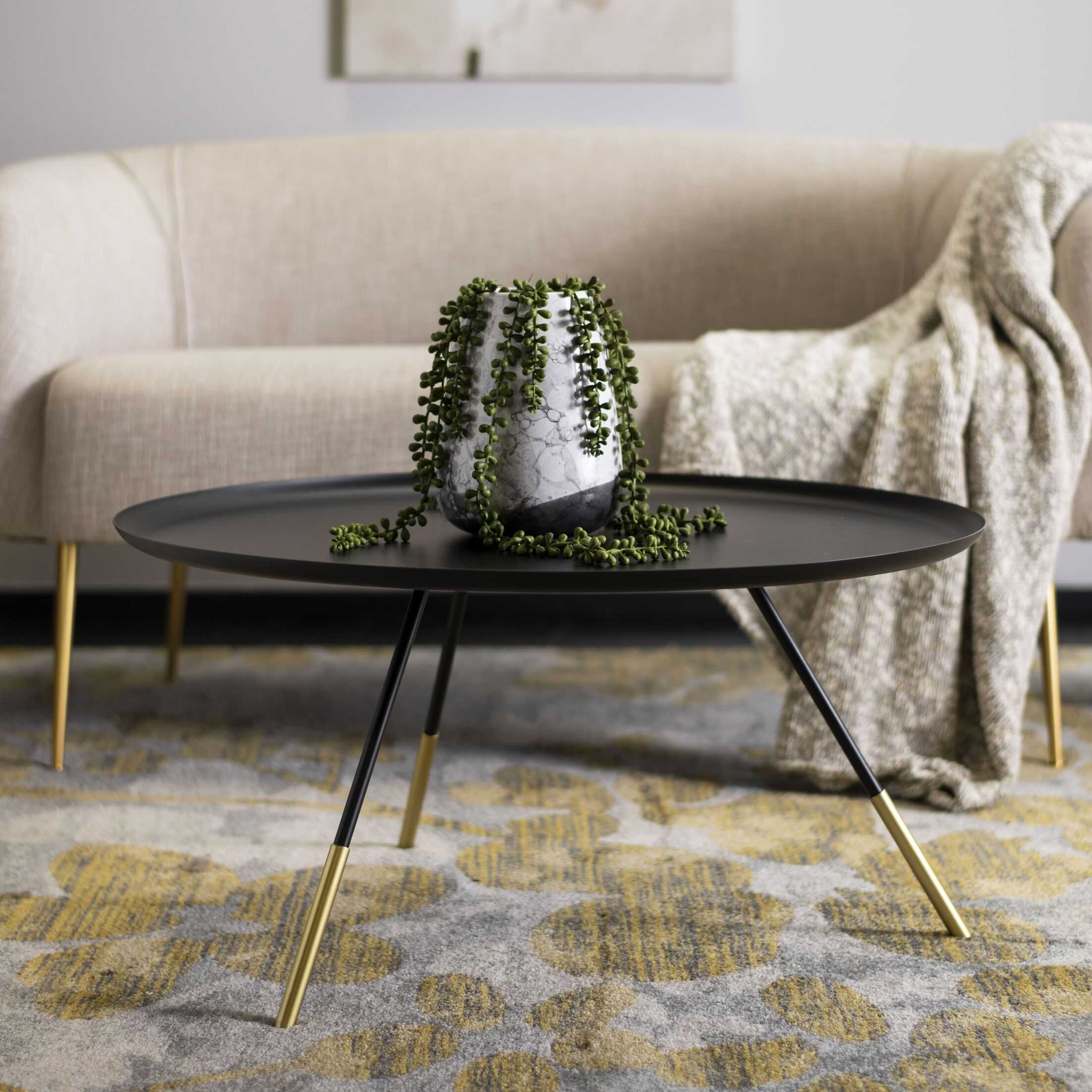 Groves Coffee Table Color: Black