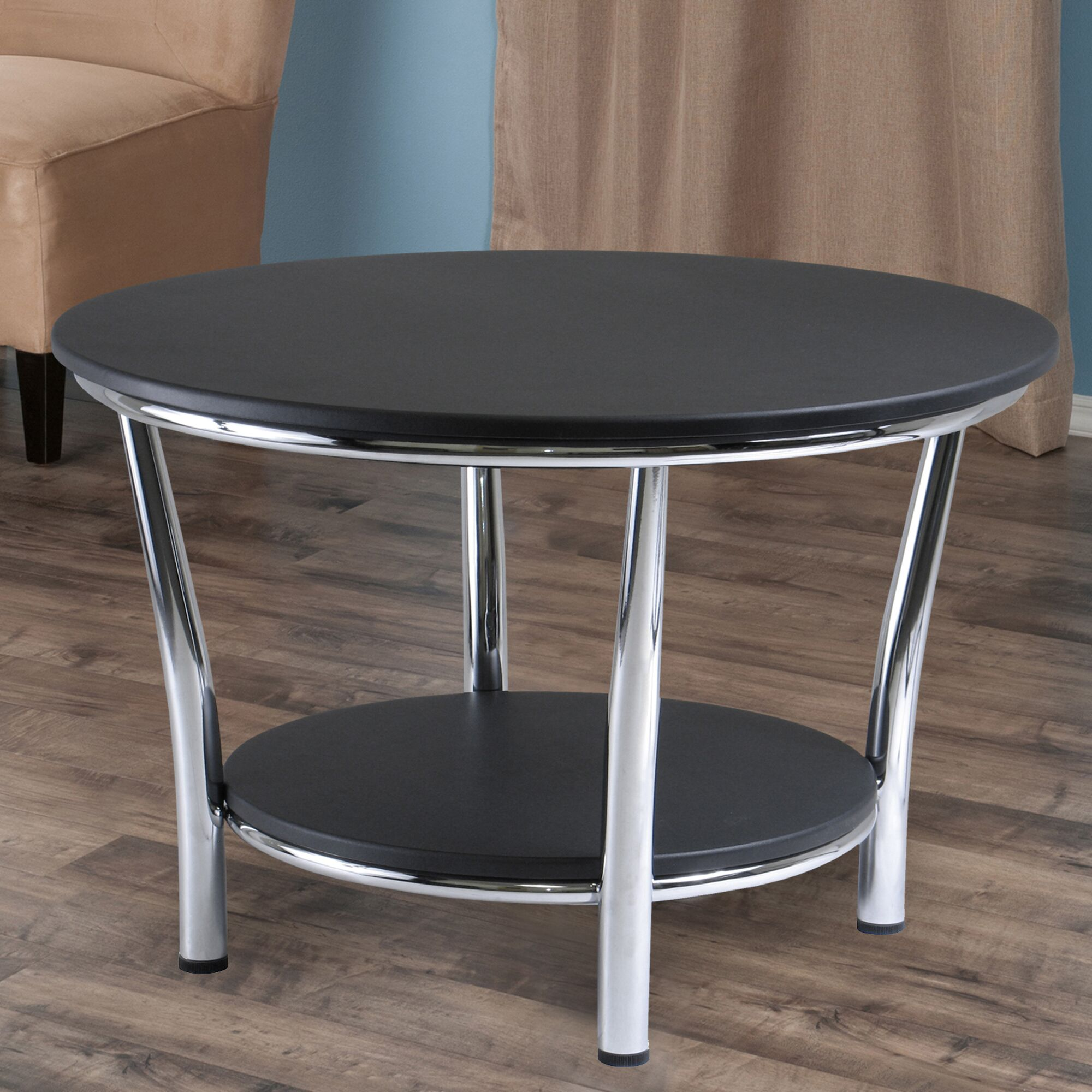 Dobbs Ferry Coffee Table Color: Black