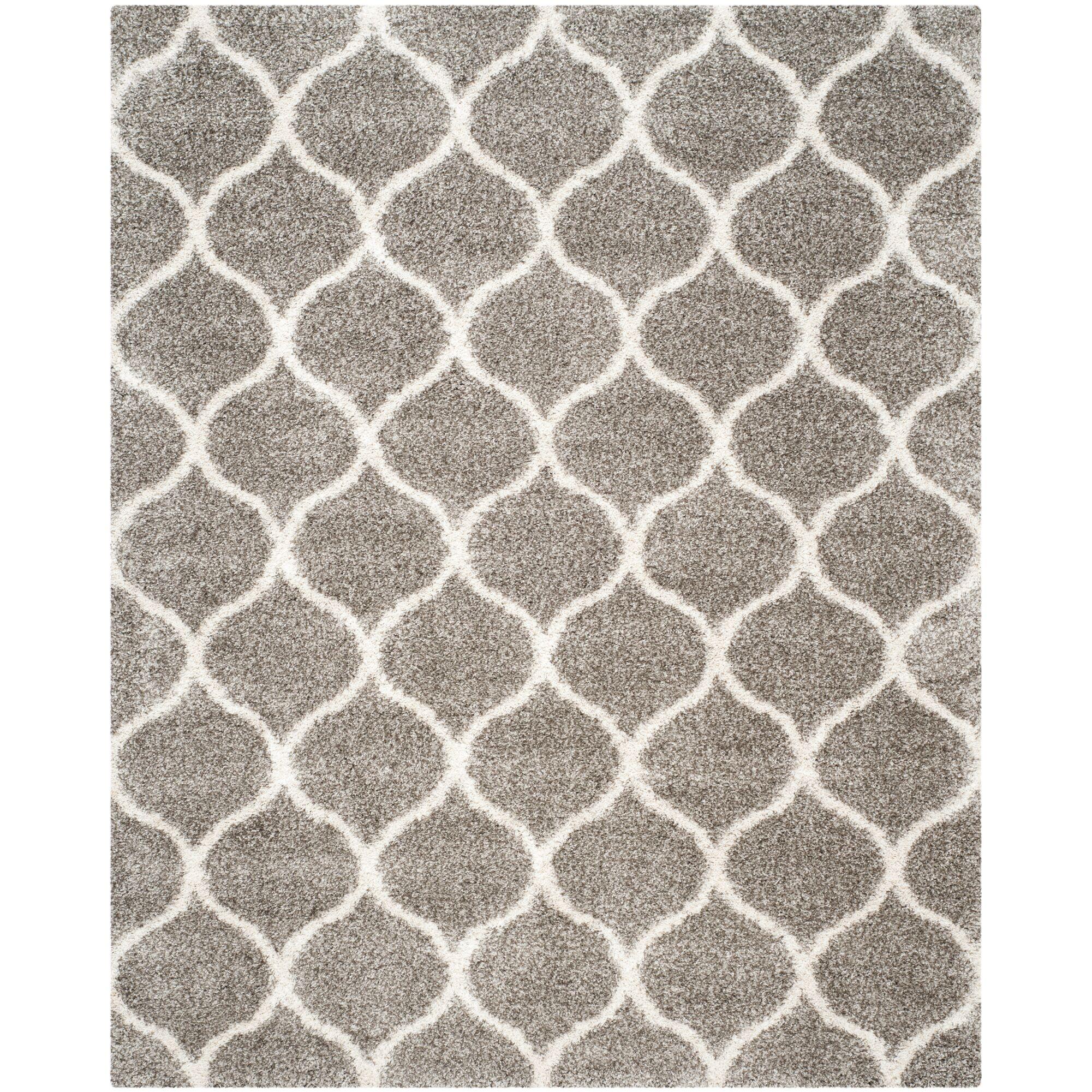 Elizabeth Street Gray/Ivory Area Rug Rug Size: Rectangle 8' x 10'