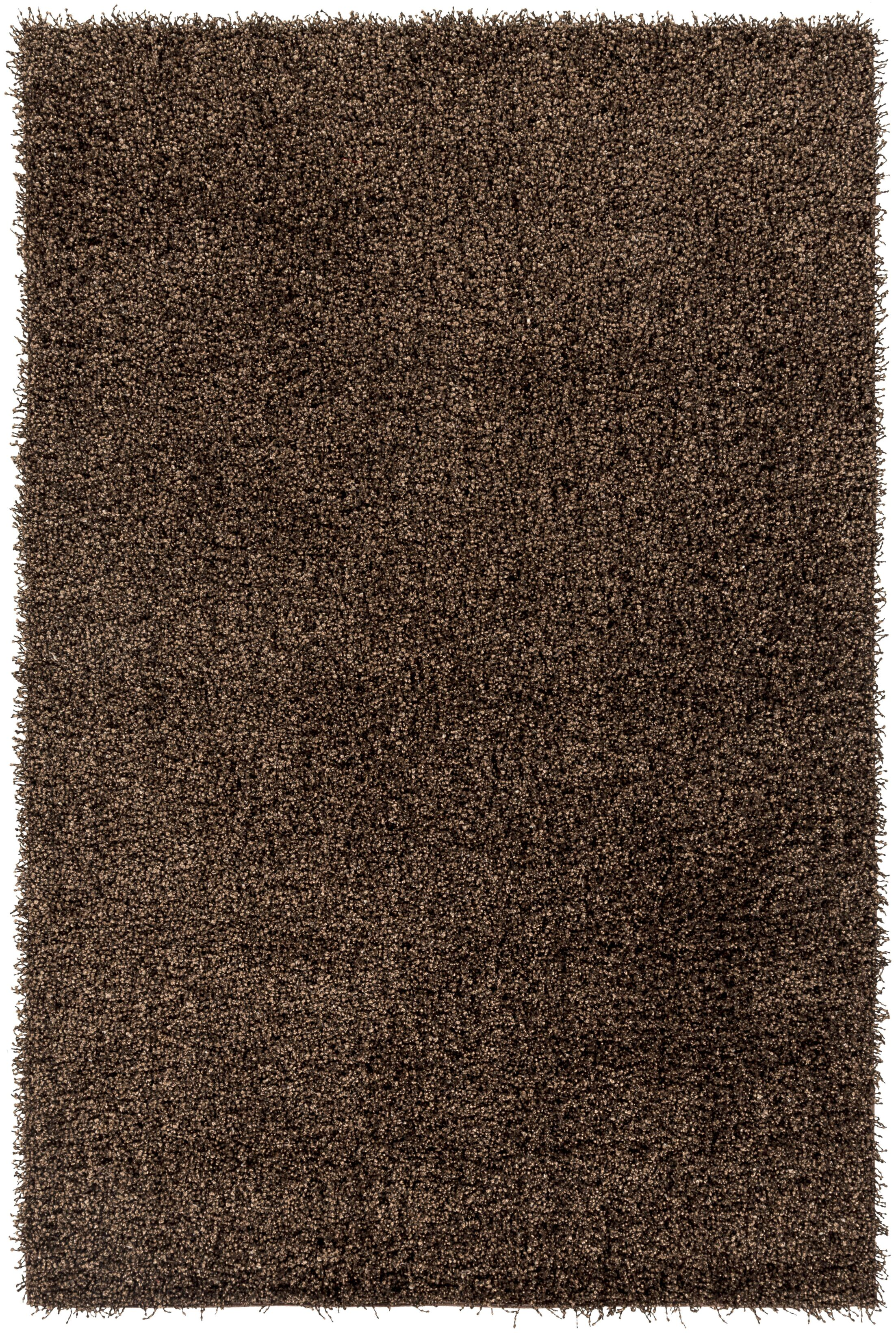 Mchaney Hand-Tufted Brown Area Rug Rug Size: Rectangle 4' x 6'
