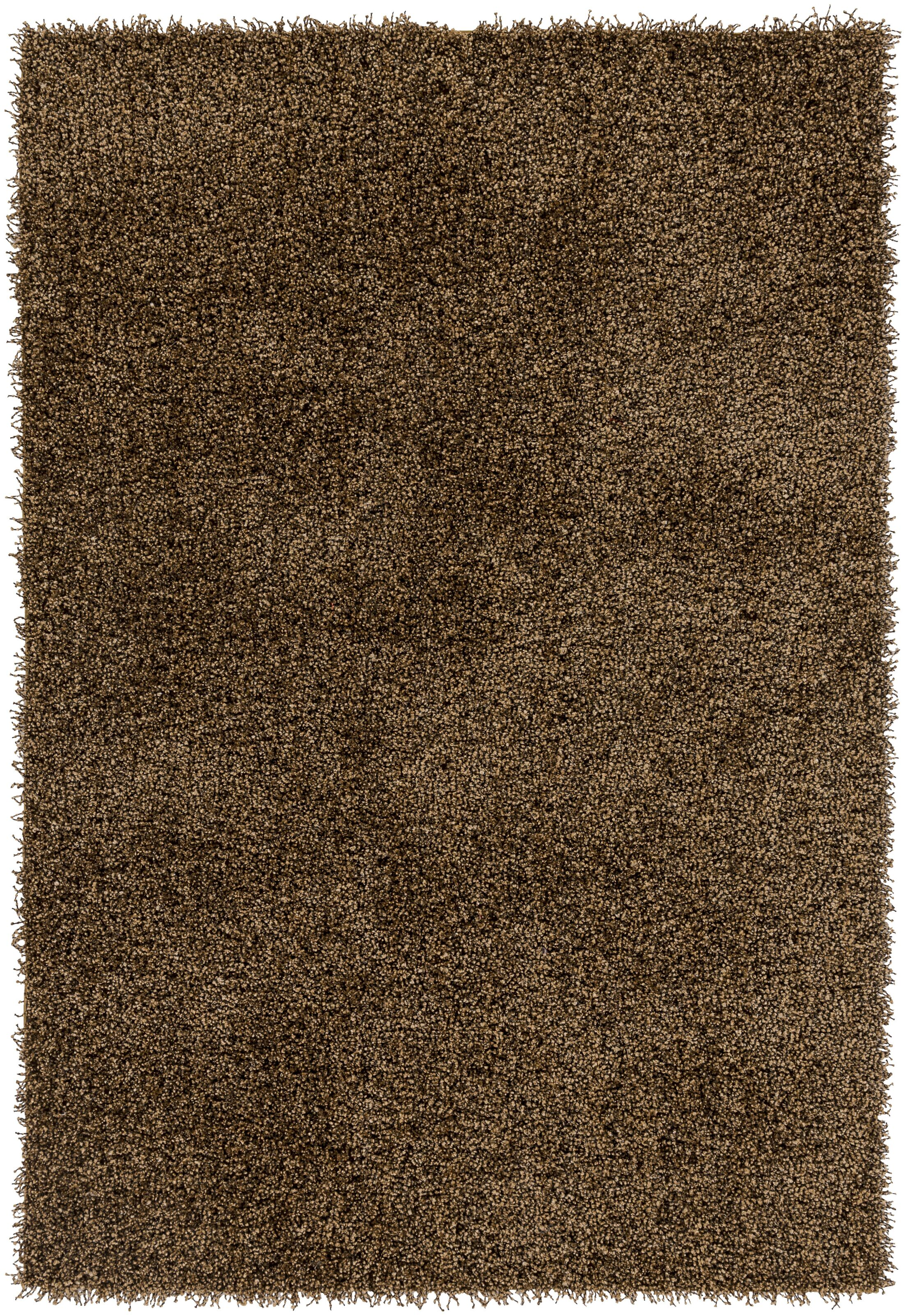Mchaney Hand-Tufted Brown Area Rug Rug Size: Rectangle 8' x 10'
