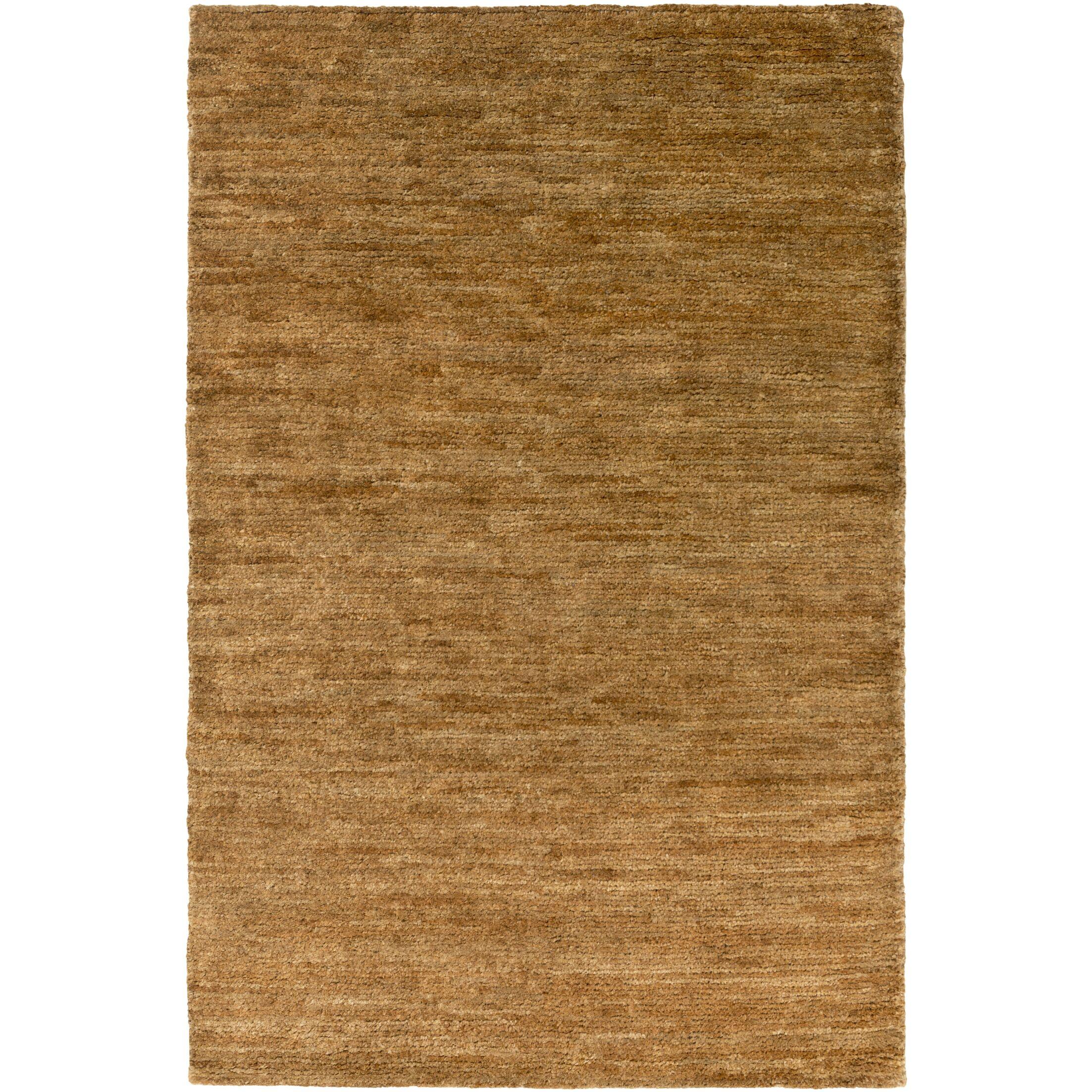Henslee Brown Area Rug Rug Size: Rectangle 8' x 10'
