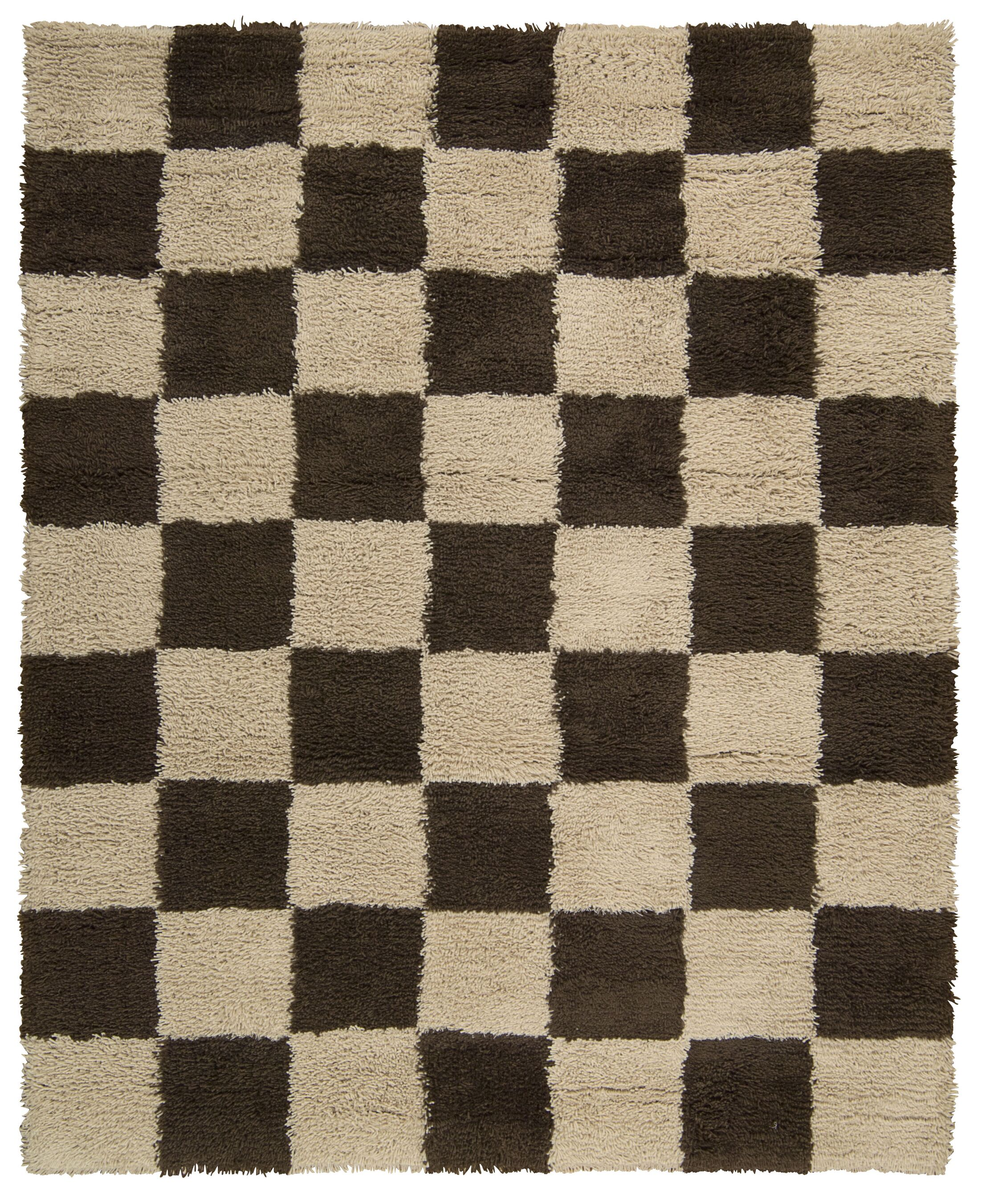 Splendor Hand-Tufted Beige Area Rug Rug Size: Rectangle 5' x 8'