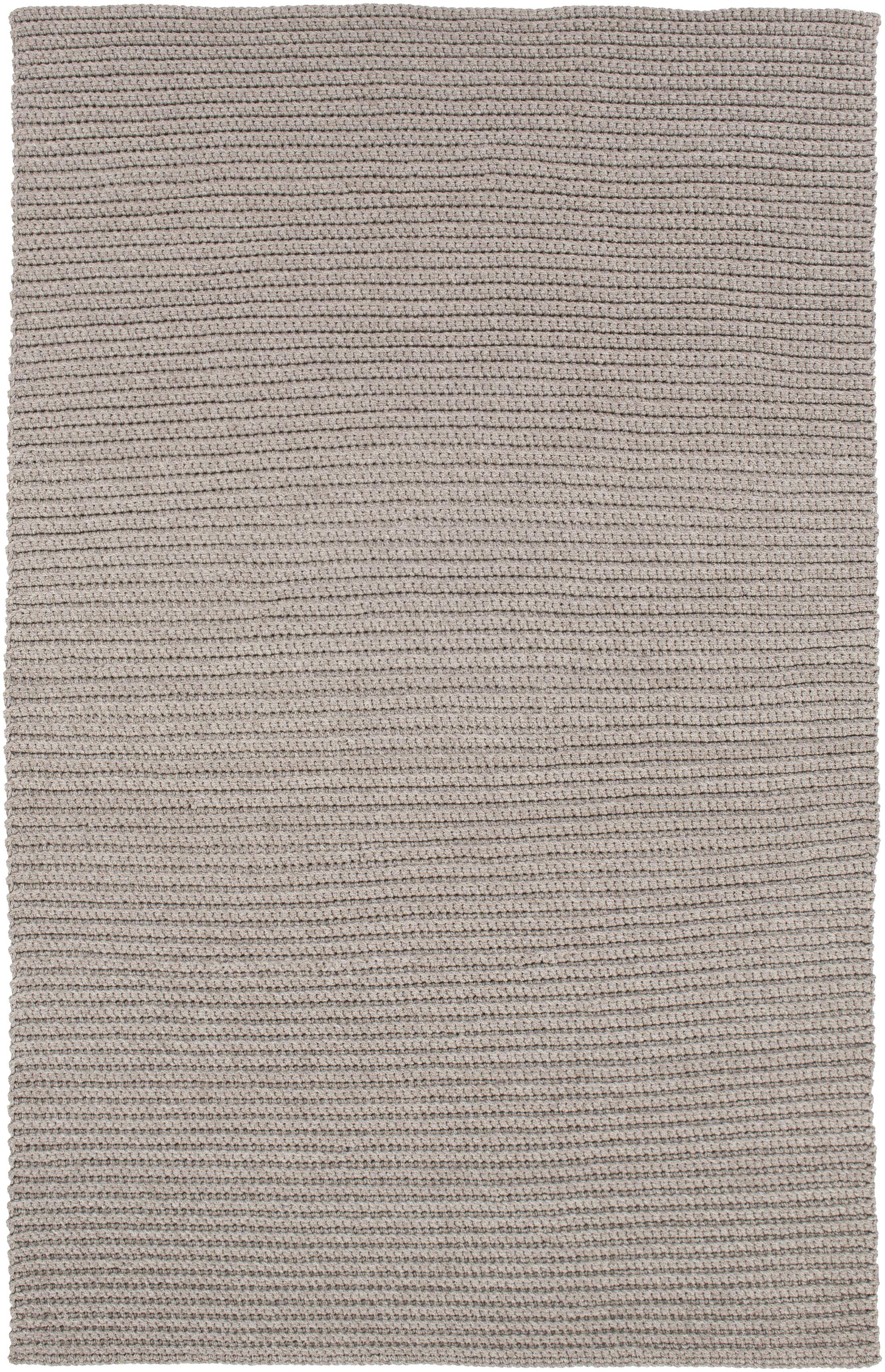 Woolverton Hand Woven Gray Indoor/Outdoor Area Rug Rug Size: Rectangle 2' x 3'