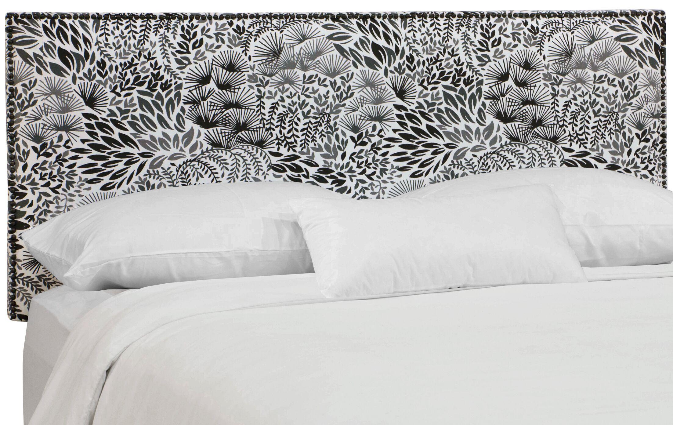 Bowersox  Upholstered Panel Headboard Size: California King