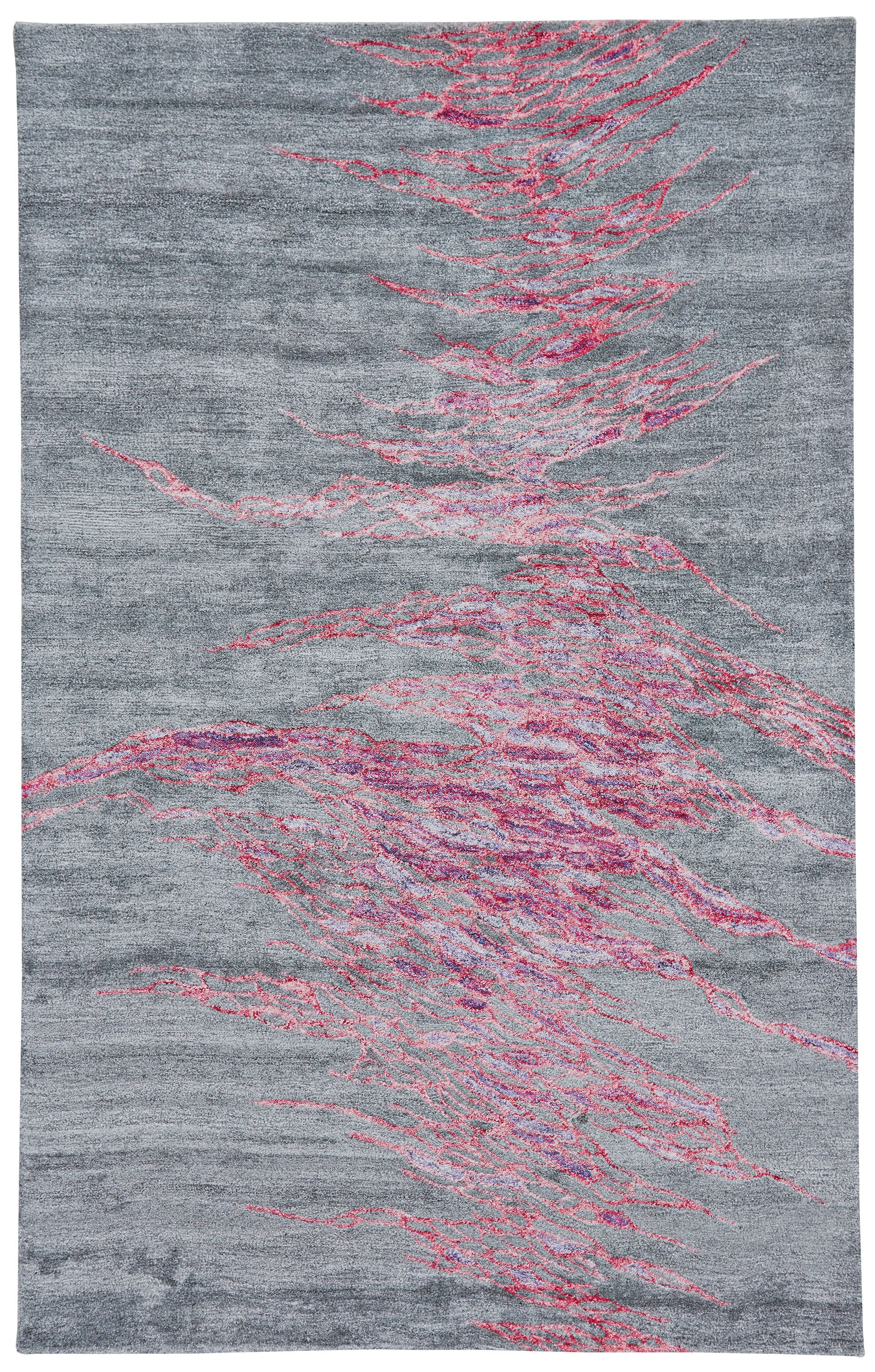 Griffin Hand-Tufted Galaxy Area Rug Rug Size: Rectangle 5' x 8'