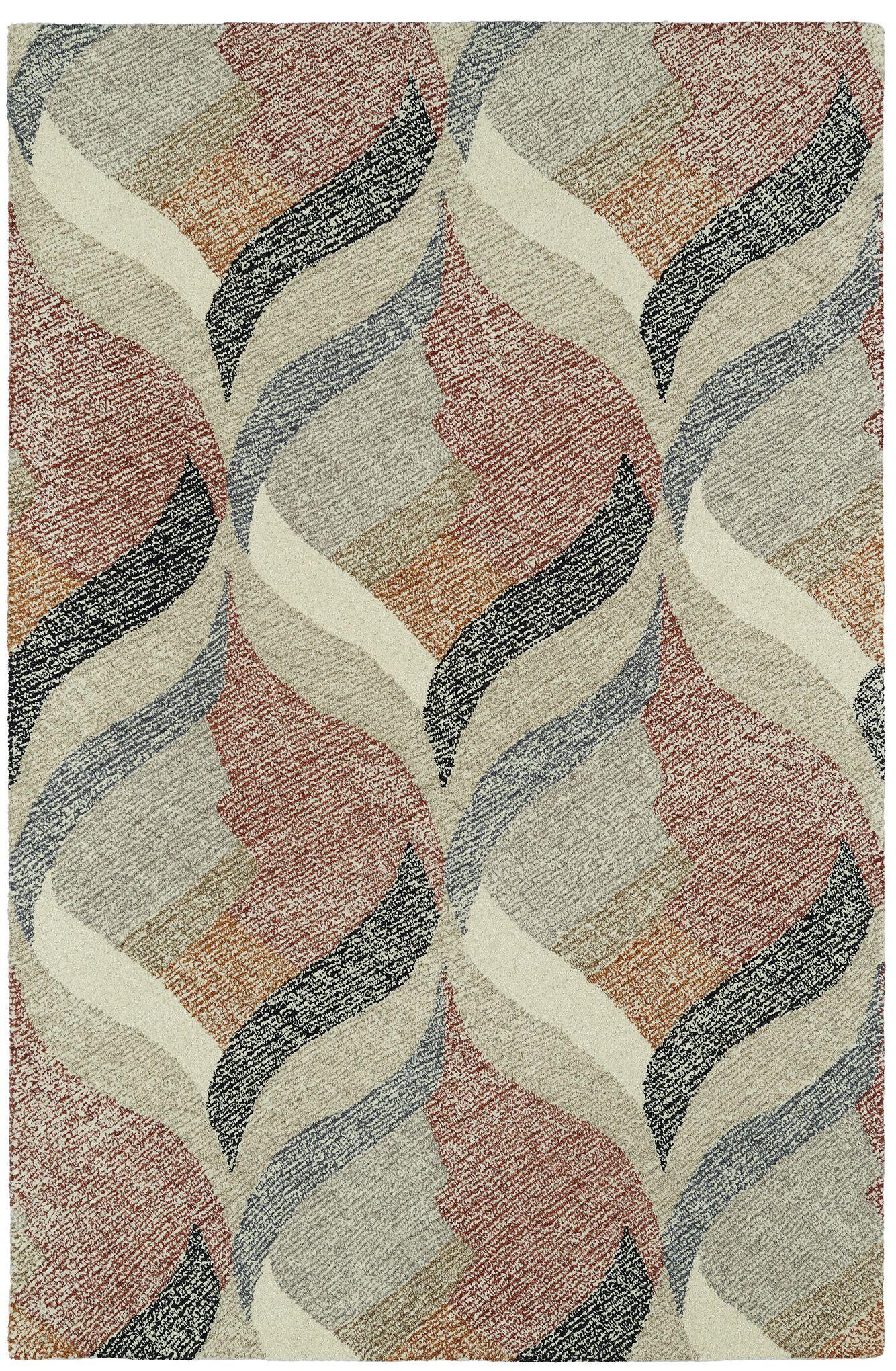 Louane Hand-Tufted Area Rug Rug Size: Rectangle 5' x 9'