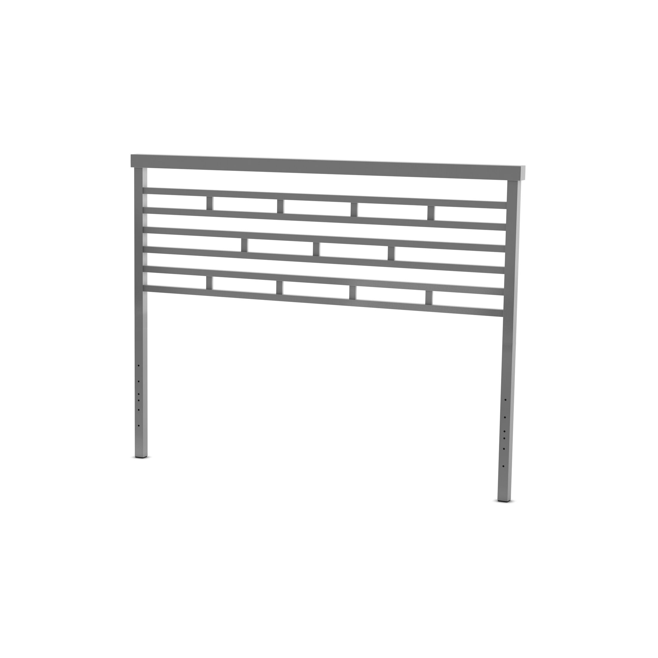 Fobbs Open-Frame Headboard Size: Queen, Color: Glossy Grey