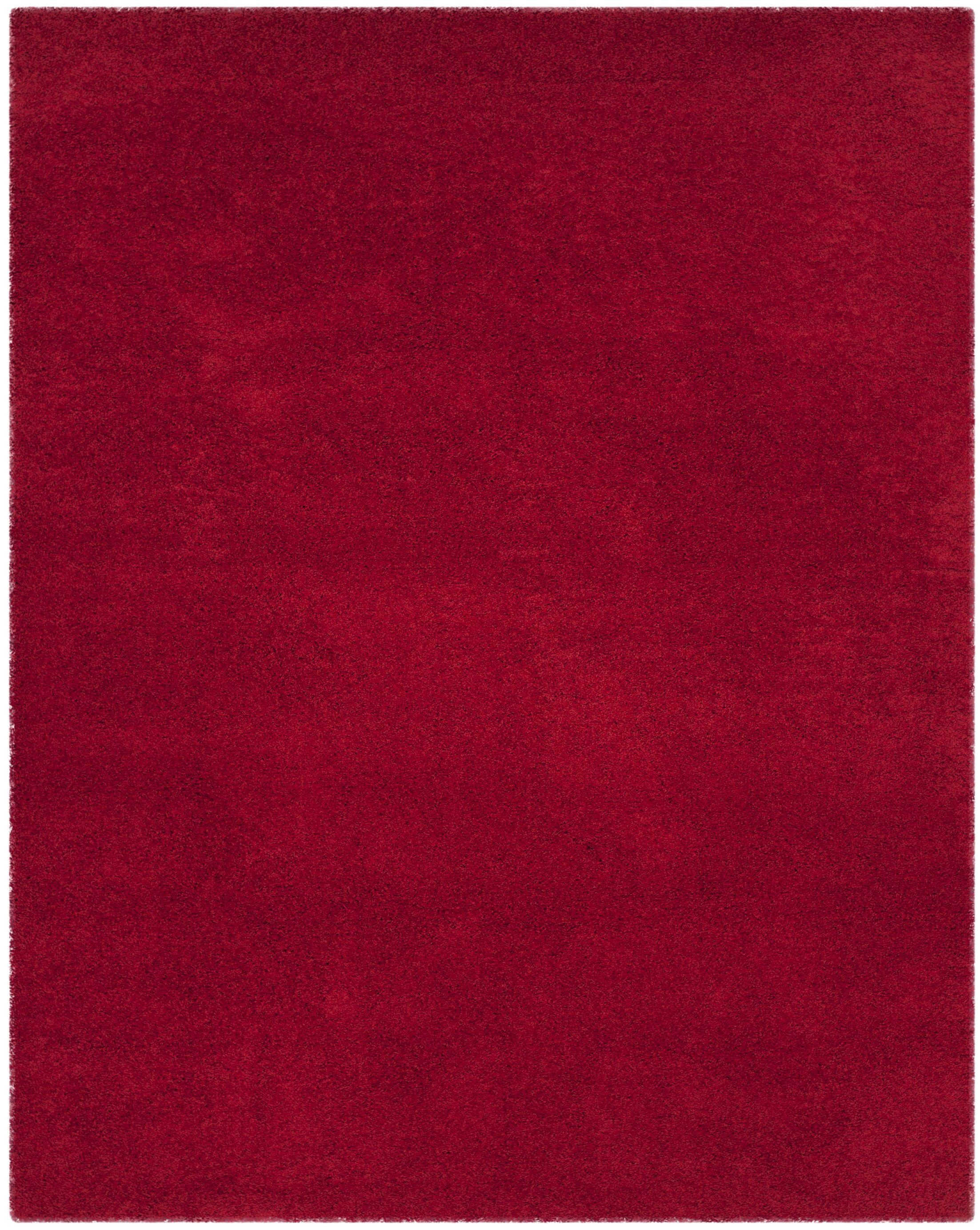 Nickols Red Area Rug Rug Size: Rectangle 8' x 10'