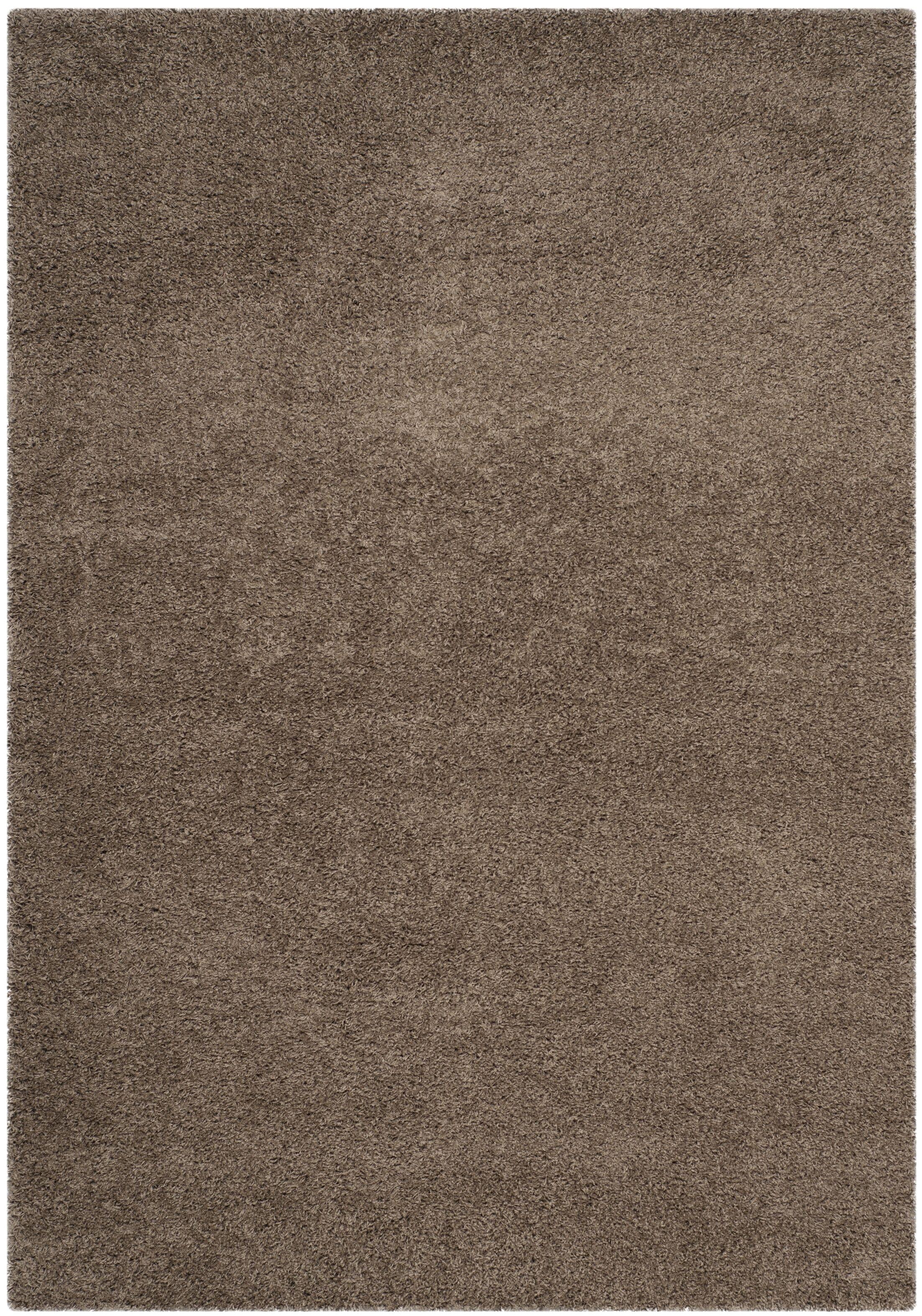 Nickols Shag Taupe Area Rug Rug Size: Rectangle 4' x 6'