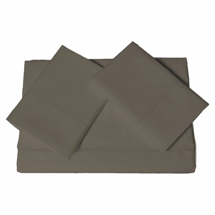 Tolson 600 Thread Count 4 Piece Egyptian Quality Cotton Deep Pocket Sheet Set Size: Queen, Color: Chocolate