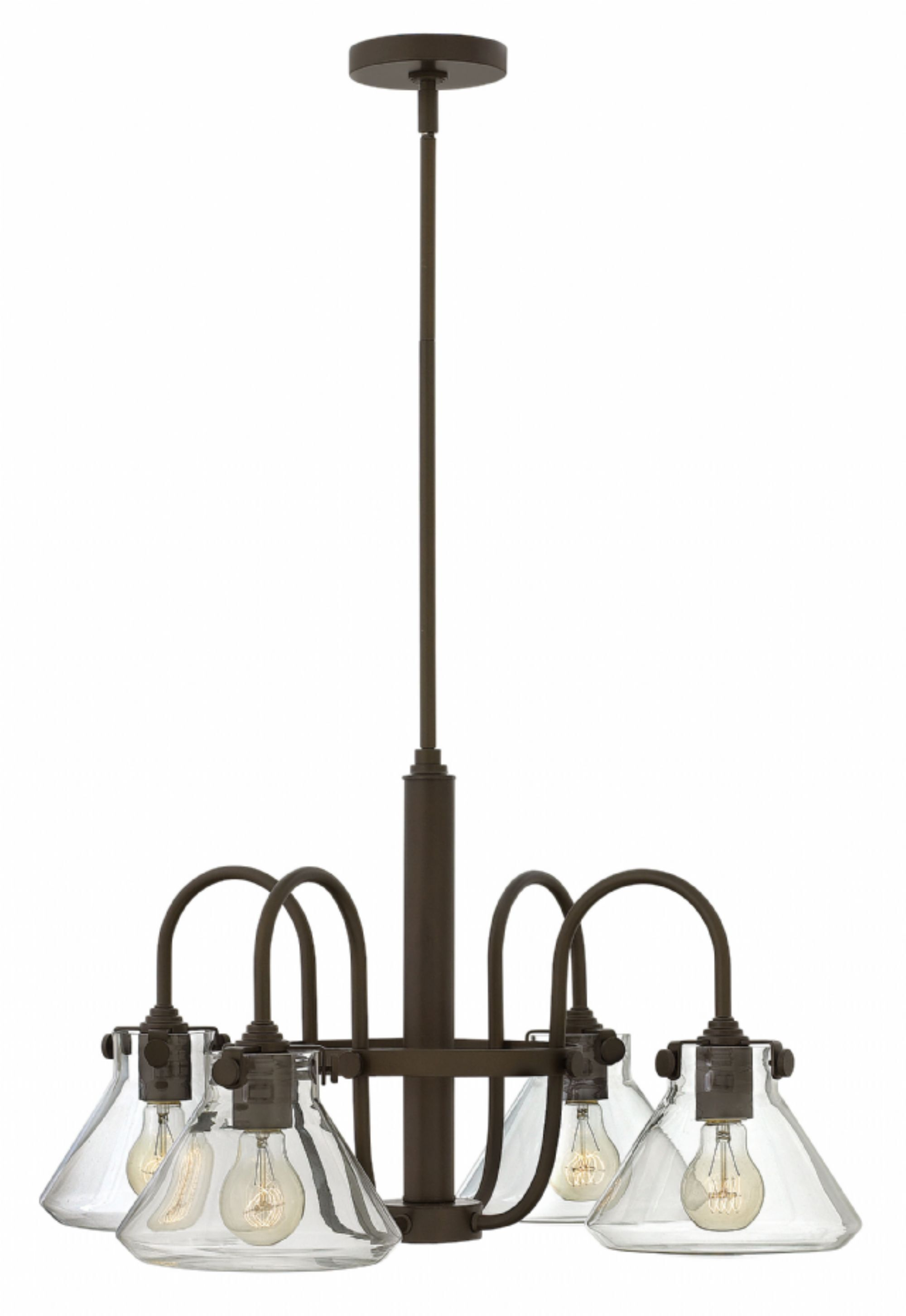 Bunnell Traditional 4-Light Shaded Chandelier Finish: Oil Rubbed Bronze