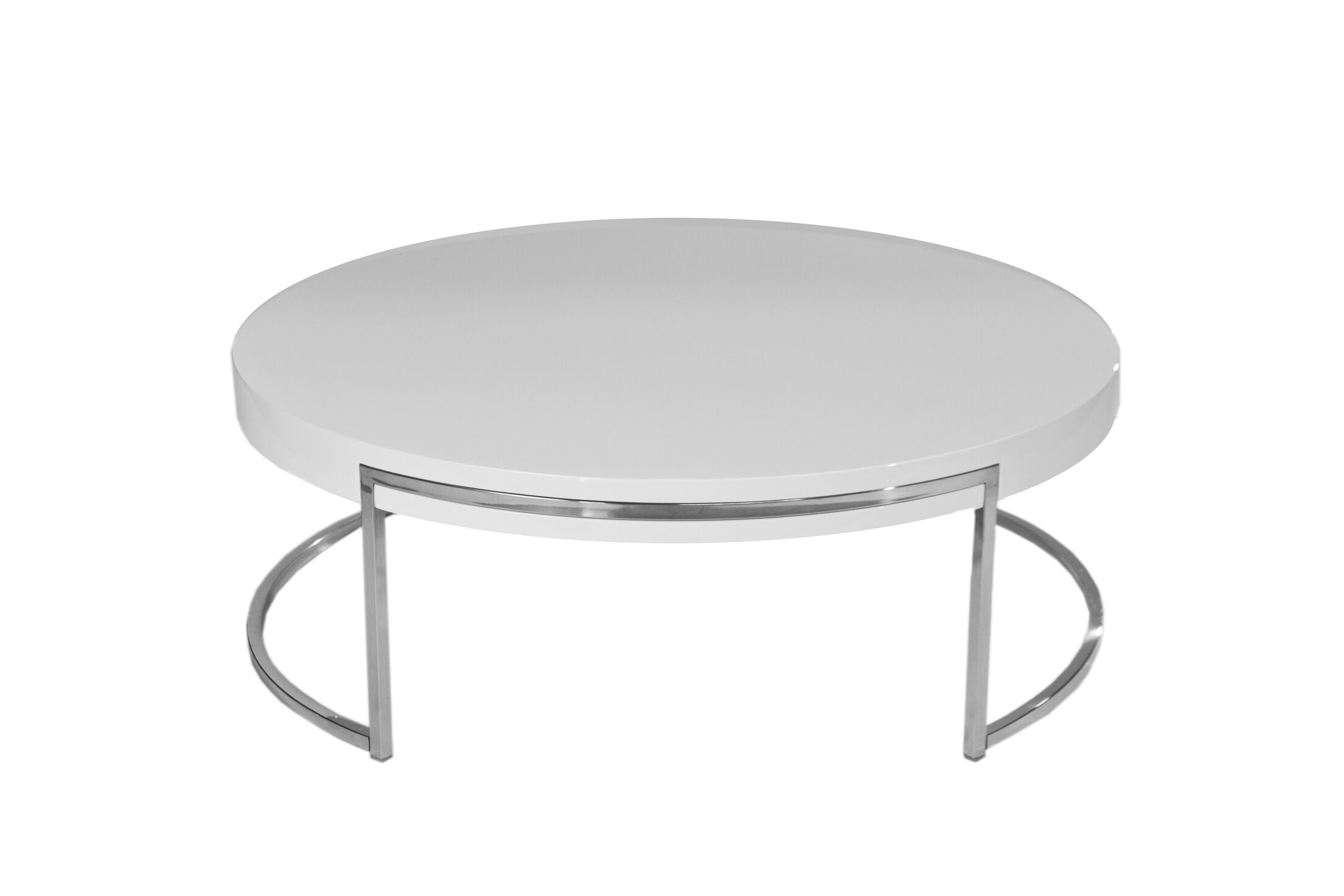 Cutler Coffee Table Color: White