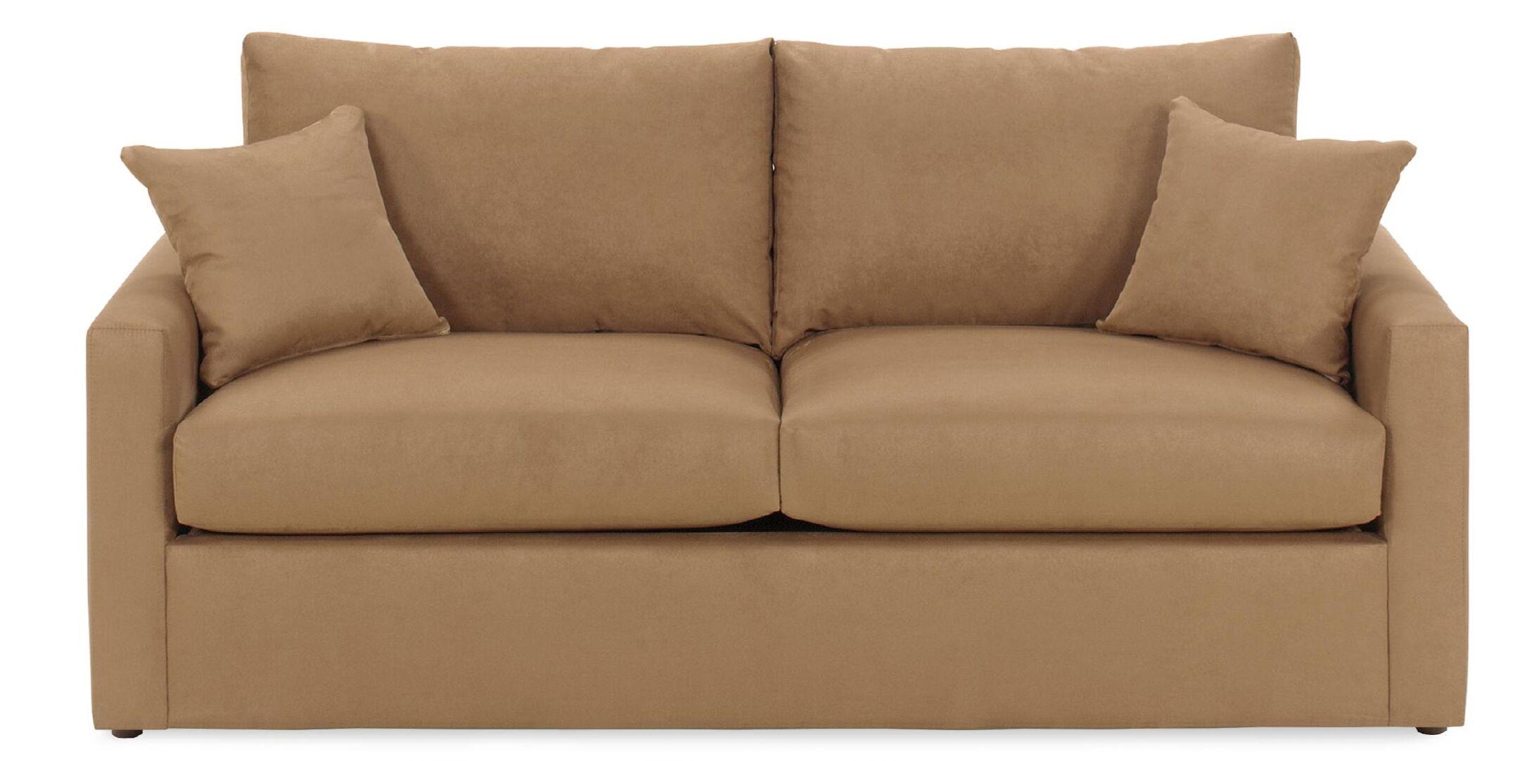 Ardencroft Sleeper Sofa Upholstery: Obsessions Java, Size: Full, Mattress Type: Memory Foam