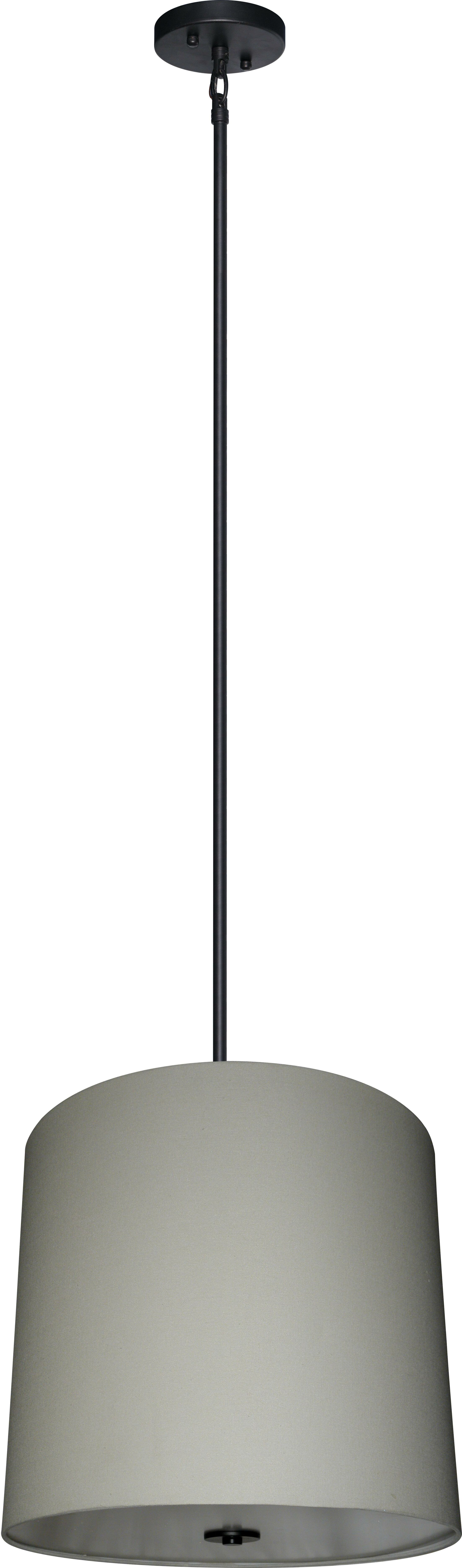 Olivo 5-Light Shaded Chandelier Shade Color: Creme Brulee Weave