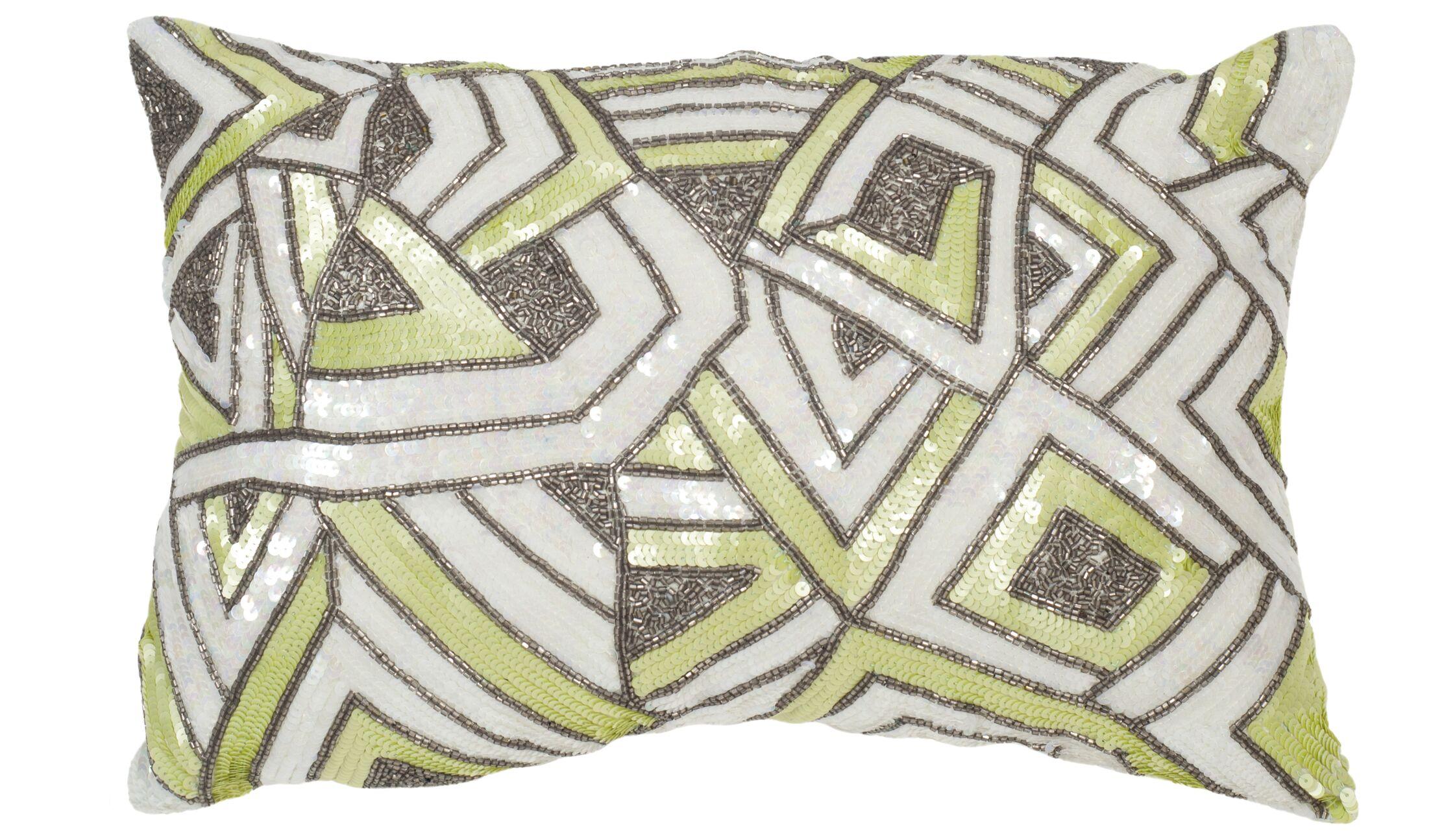 Strayer Lumbar Pillow Color: Macaron Green