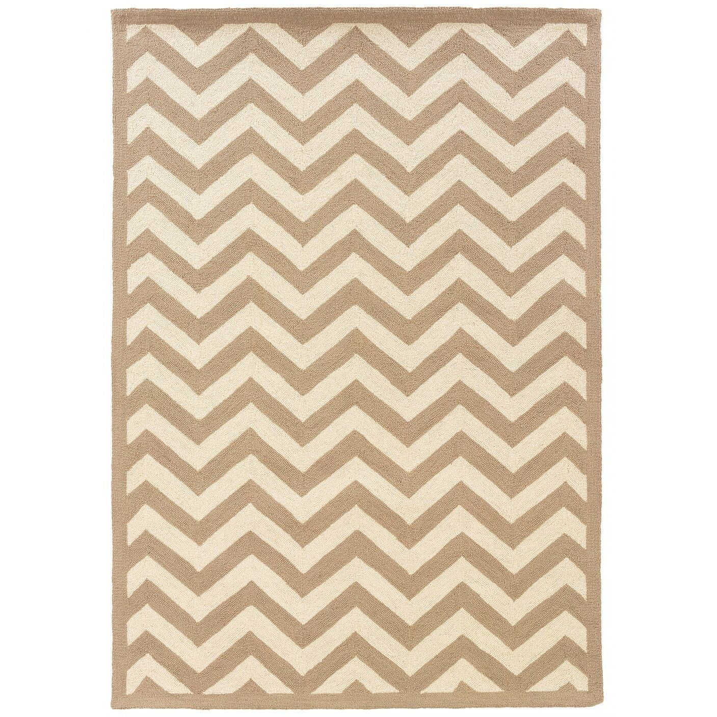 Besser Natural Area Rug Rug Size: Rectangle 5'3