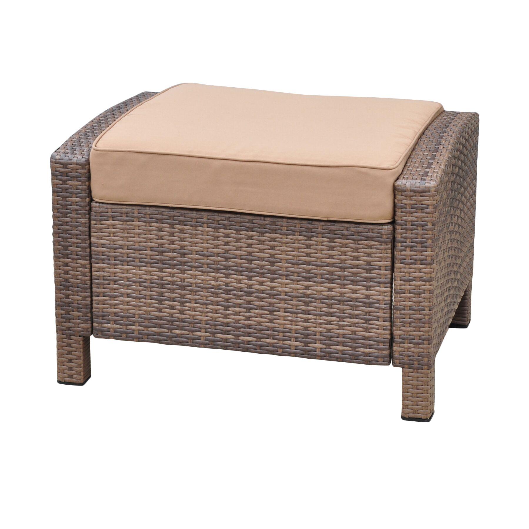 Katzer Ottoman with Cushion