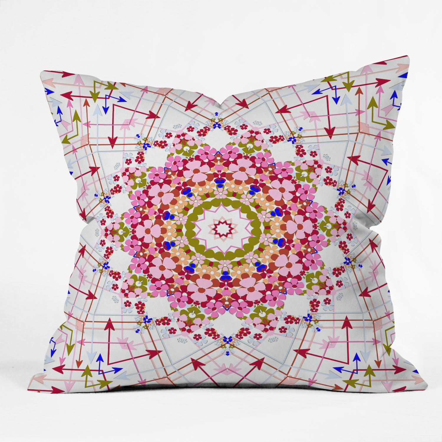 Galdamez Every Which Way Throw Pillow Size: 16