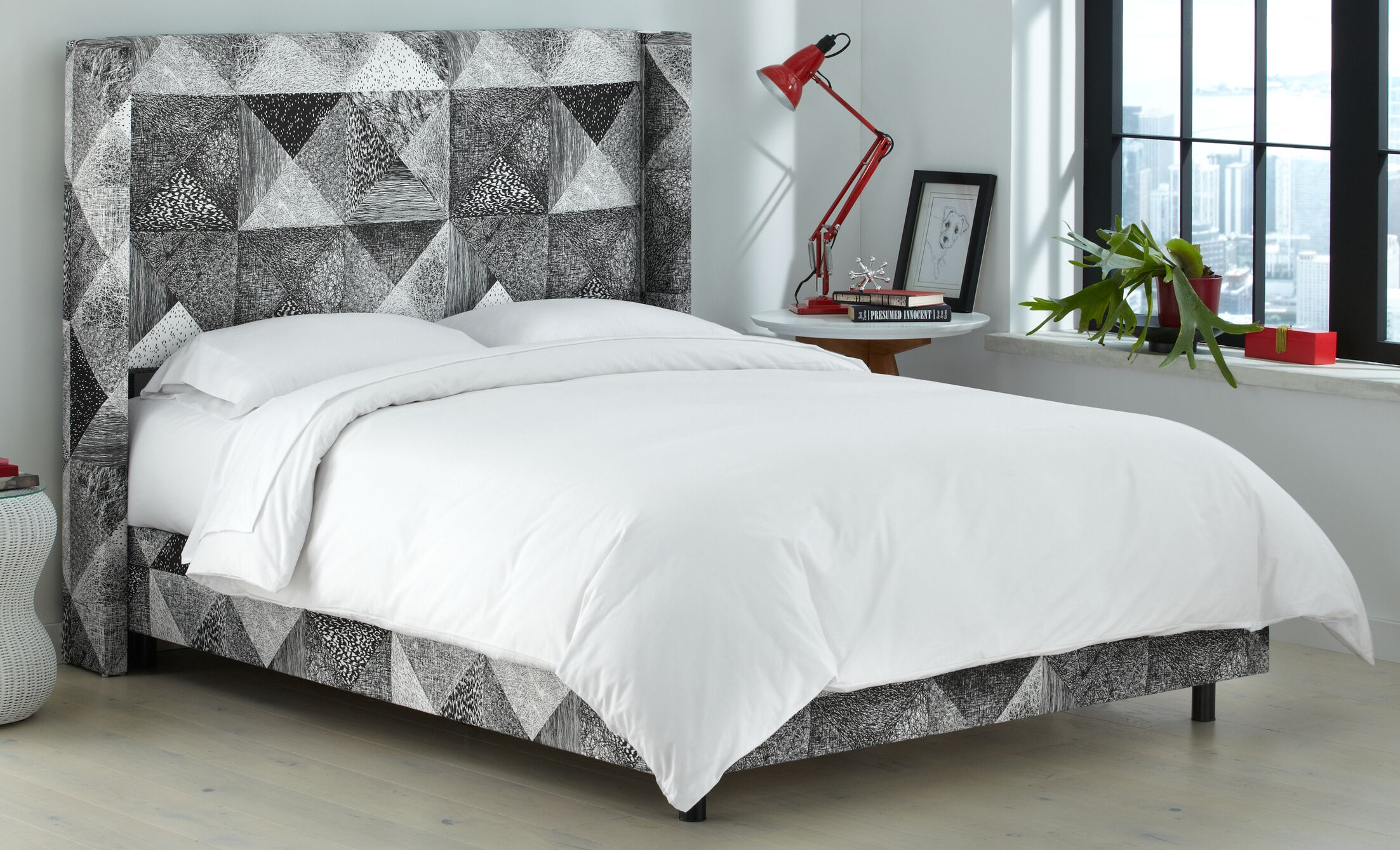 Sumpter Upholstered Panel Bed Size: California King