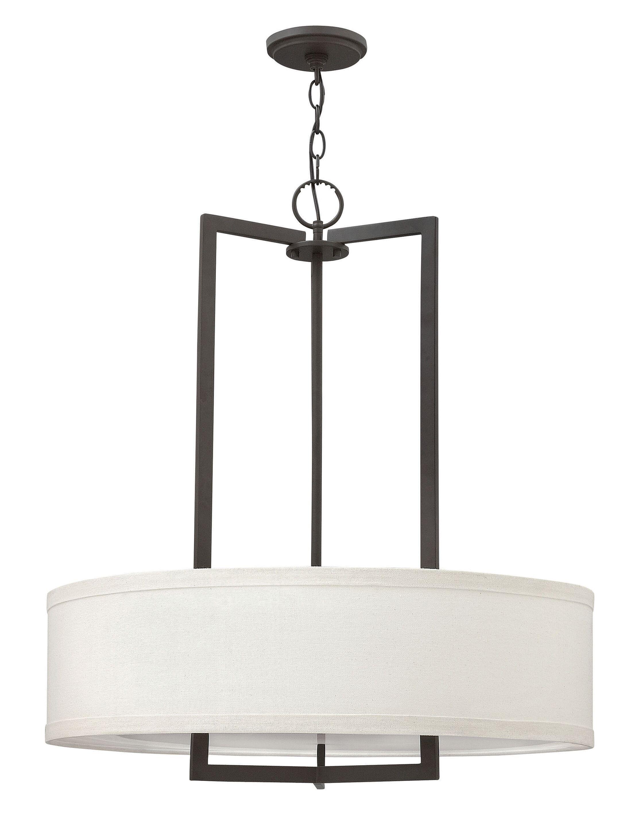Allenhurst Contemporary 3-Light Pendant Size: 26.5