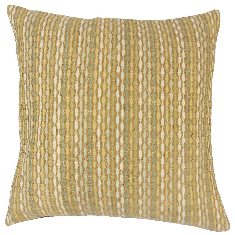 Dandenong Caroun Throw Pillow Color: Dune, Size: 20