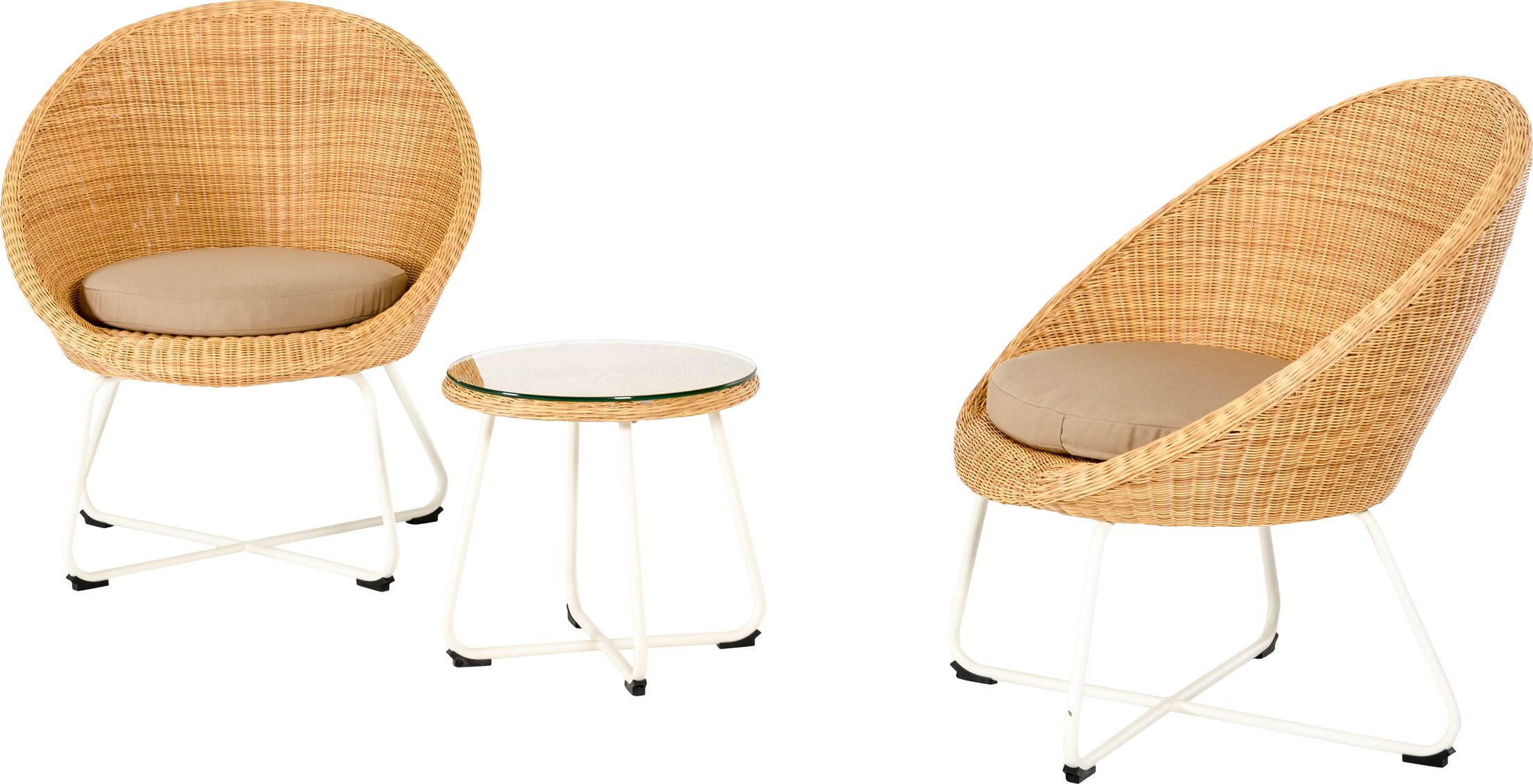 Markowitz 3 Piece Conversation Set with Cushions