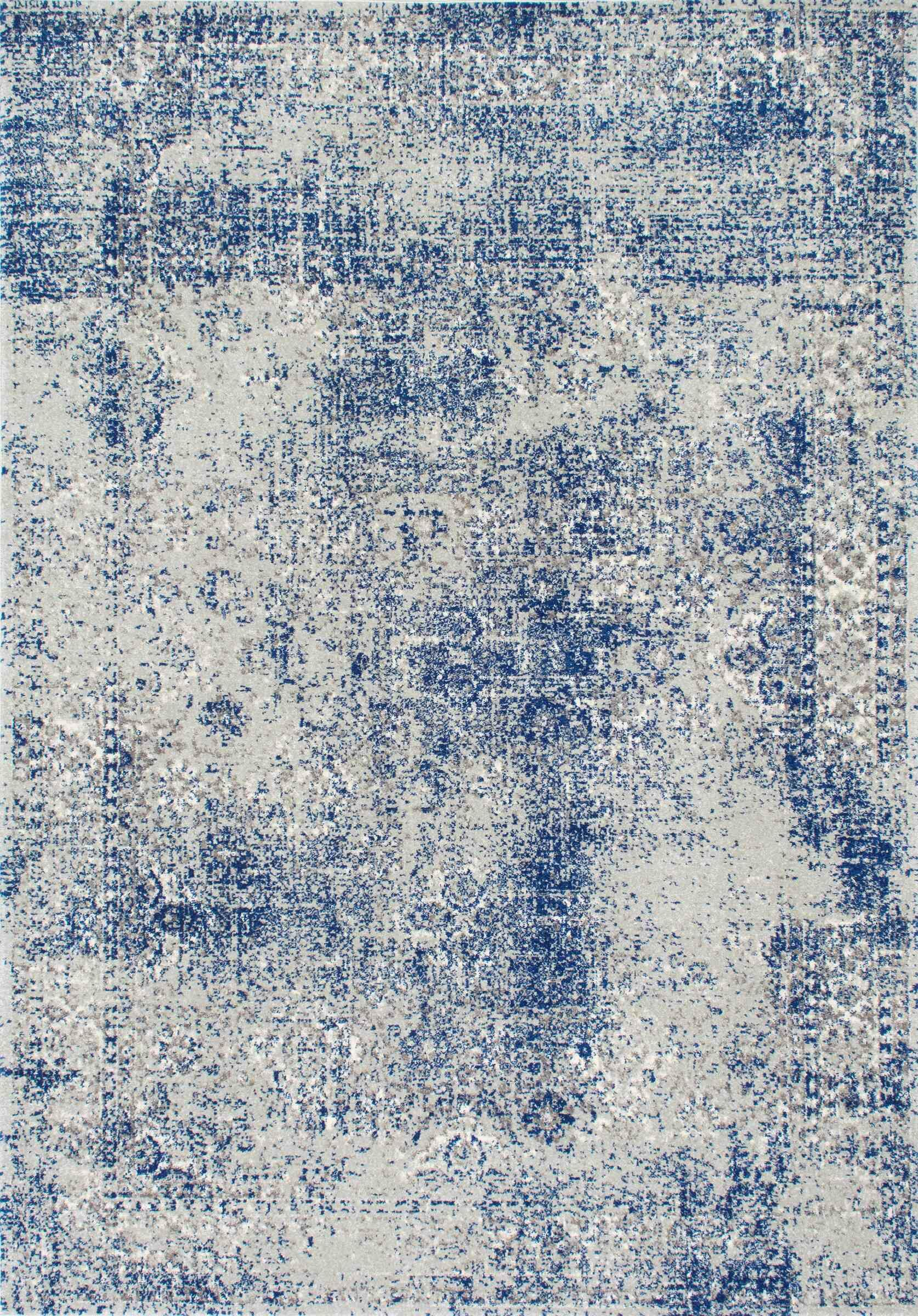 Citium Blue Area Rug Rug Size: Rectangle 9' x 12'