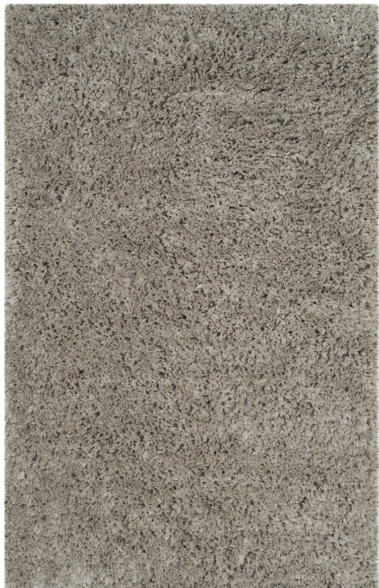 Elborough Hand-Tufted Gray Area Rug Rug Size: Rectangle 8' x 10'