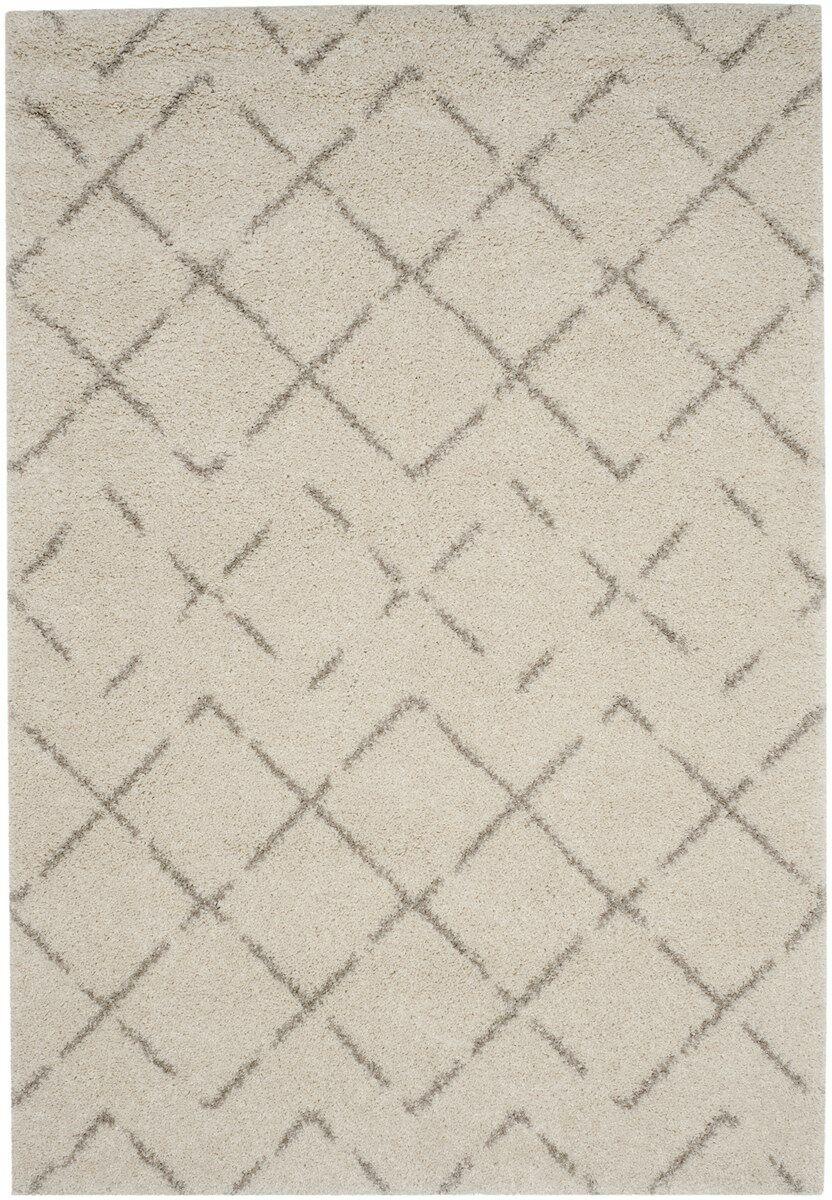 Barcia Beige Area Rug Rug Size: Rectangle 6'7