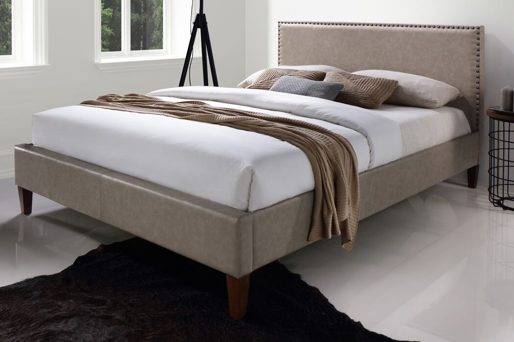 Elisavet Queen Upholstered Platform Bed