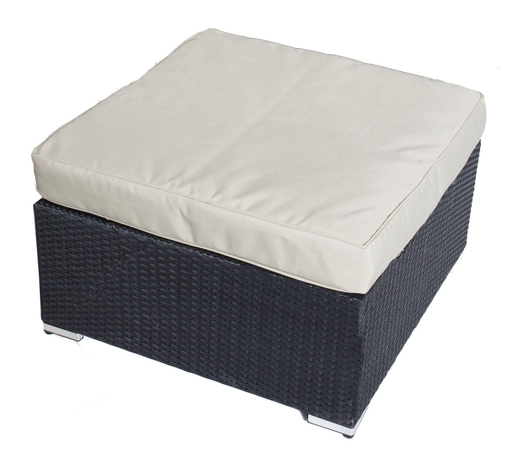 Kingsdown Ottoman with Cushion Fabric: Taupe