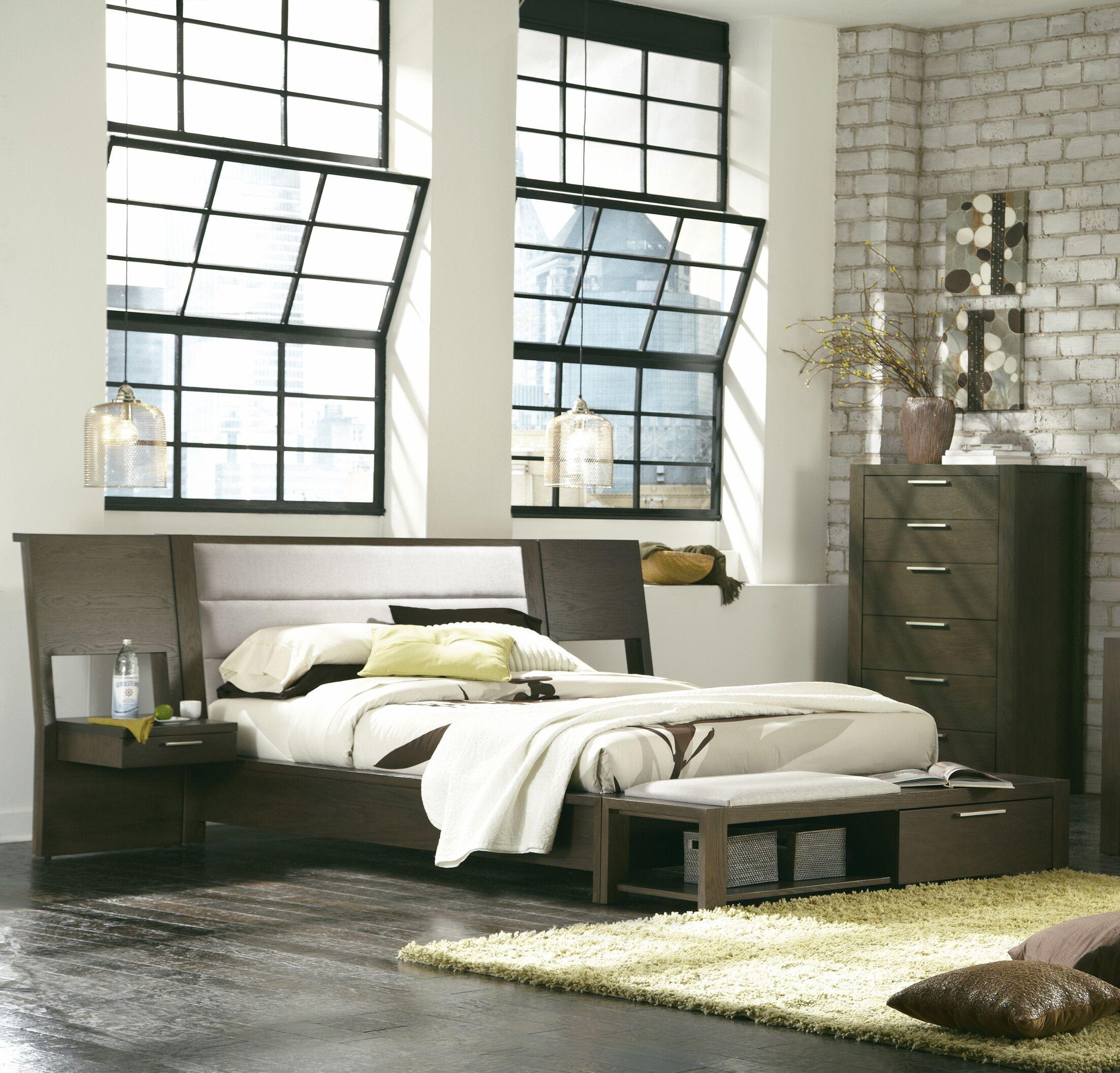 Sirena Upholstered Platform Bed Size: Queen