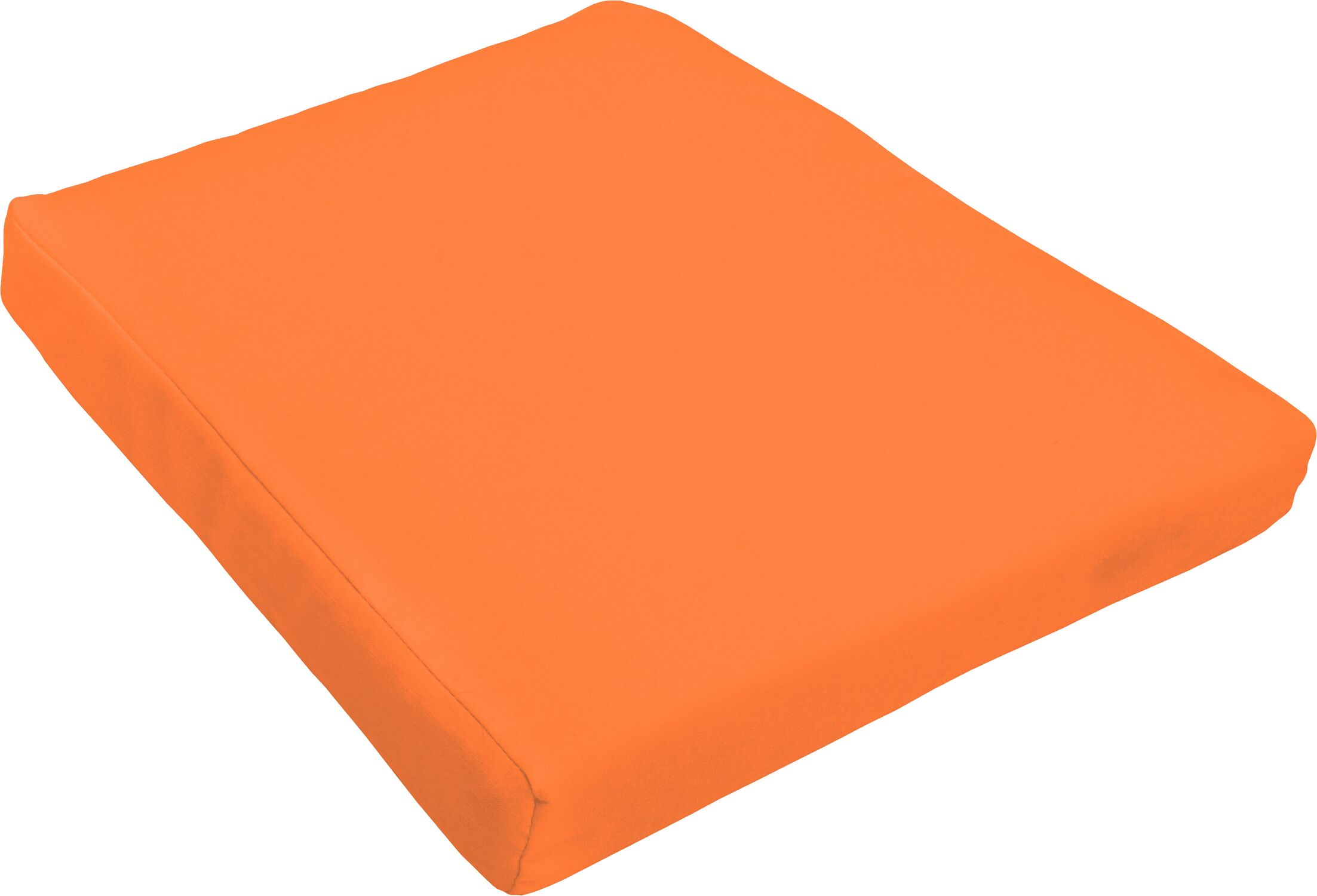Indoor/Outdoor Dining Chair Cushion Fabric: Bright Orange